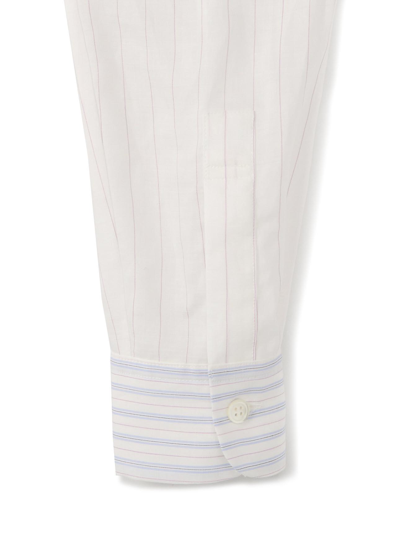 Lexel Lamy Mus条纹立领衬衫