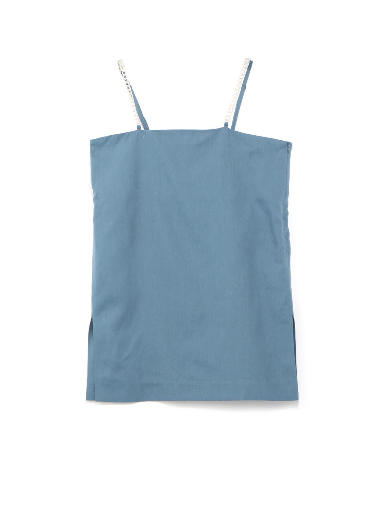 棉cupra亚麻链条吊带背心