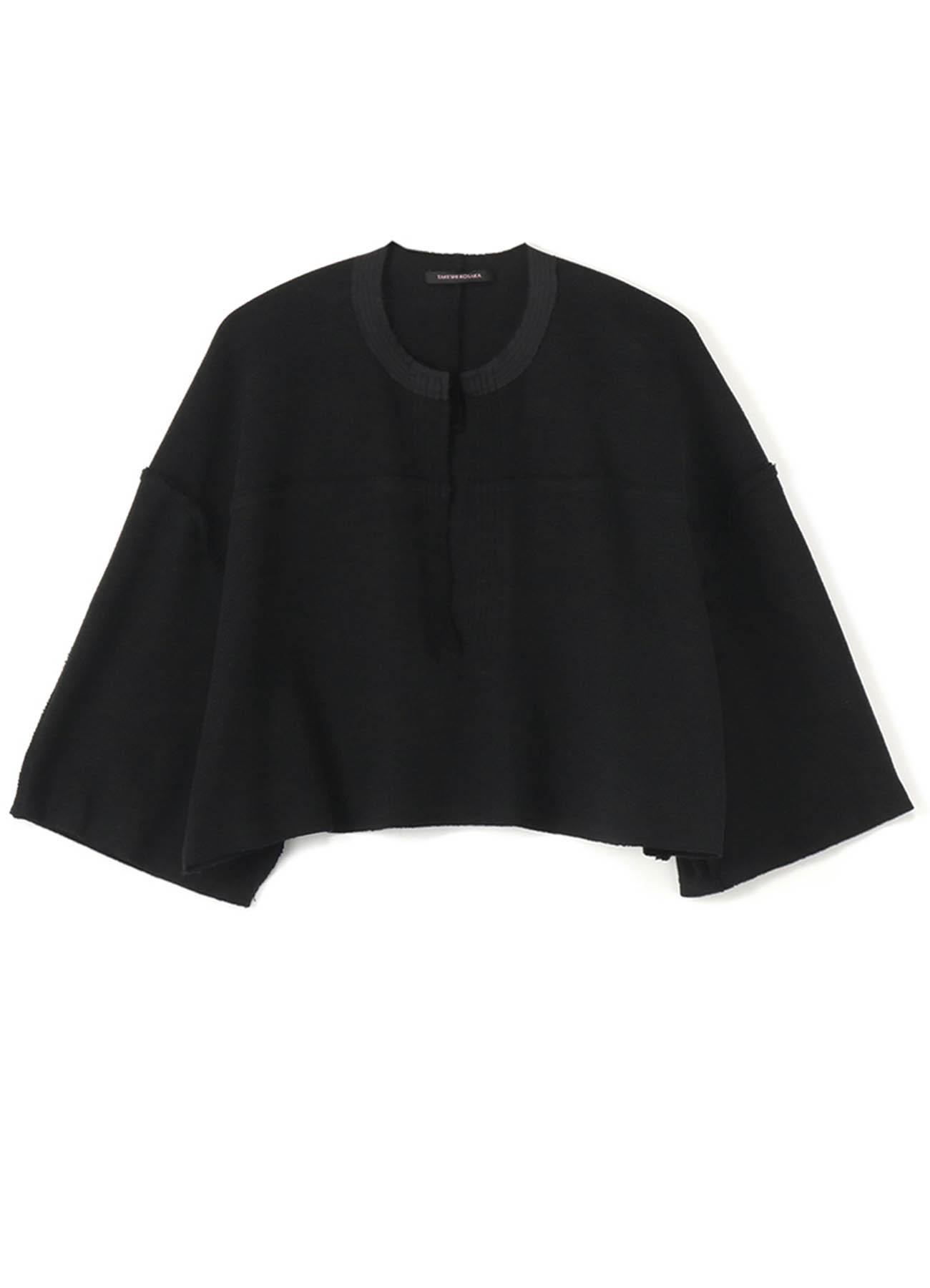 夏季纯棉短款套头衫