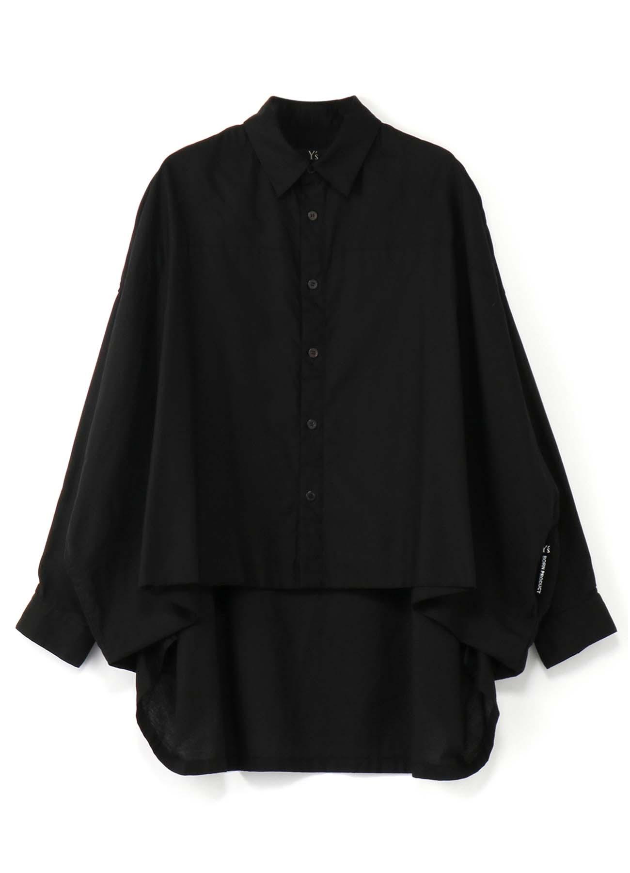 Y's-BORN PRODUCT 前后摆不对称宽松衬衫