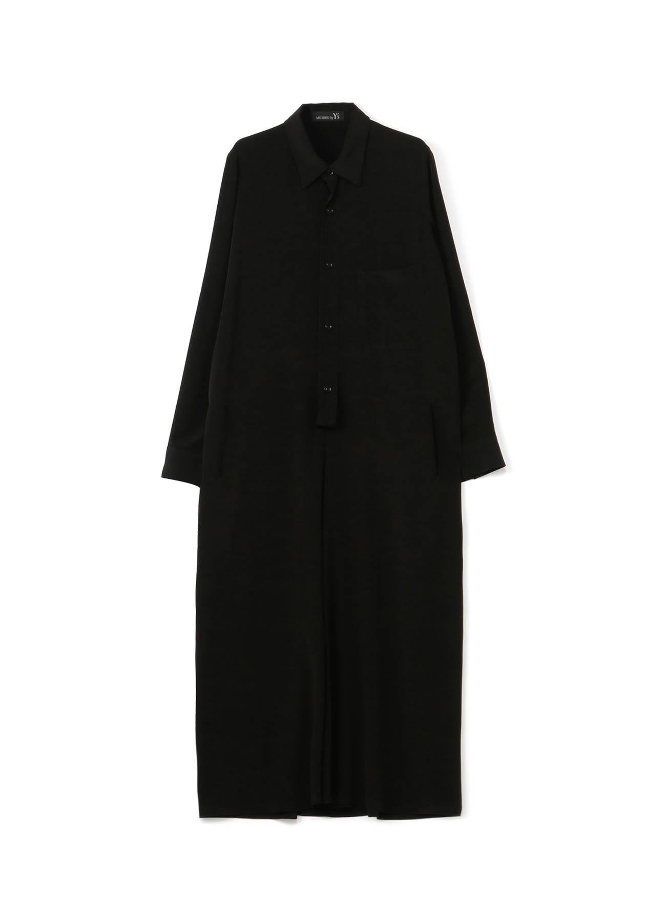 MICHIKObyY's 薄デシン ロングシャツドレス