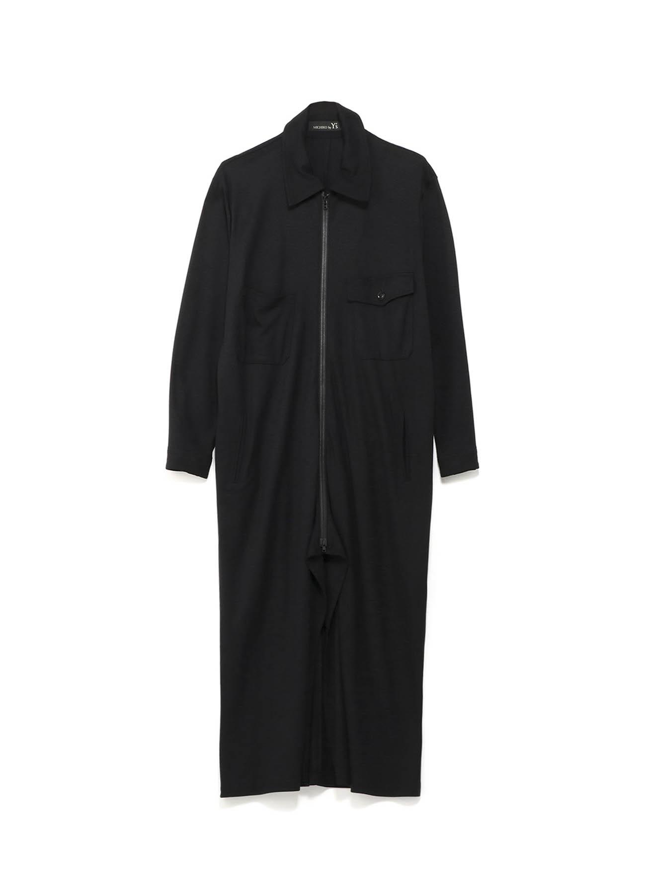 MICHIKObyY's レーヨンウールオリビアスムース つなぎドレス