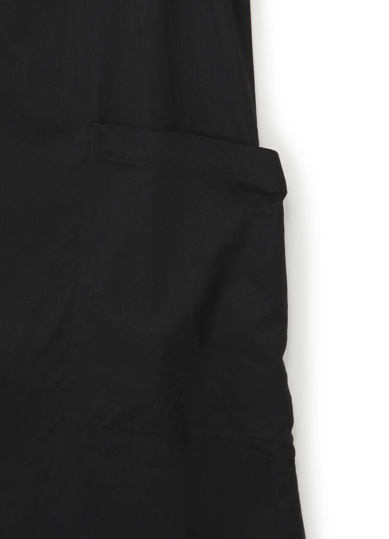 Y's-BORN PRODUCT棉质斜纹四扣长裙