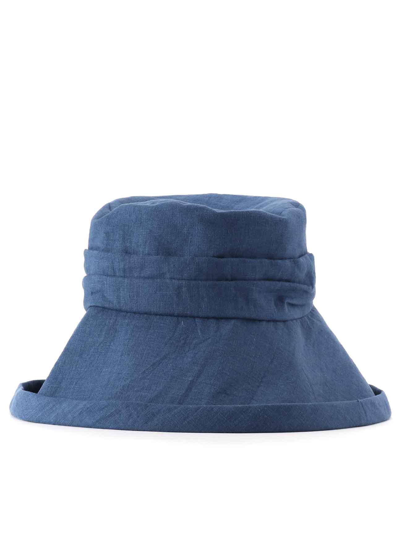 亚麻遮阳帽