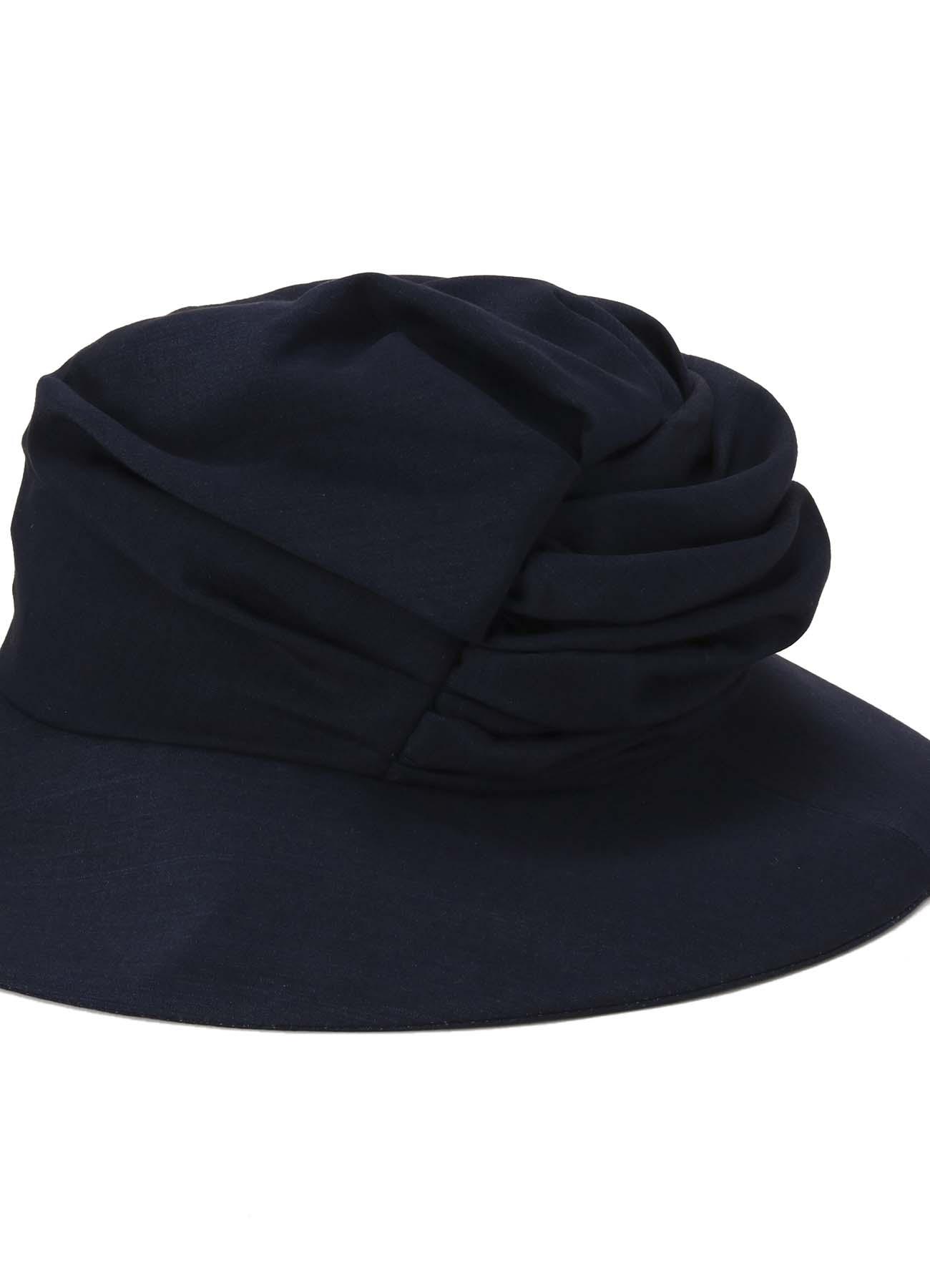 Lyocell Ram麻天然草坪Kushukushu帽子