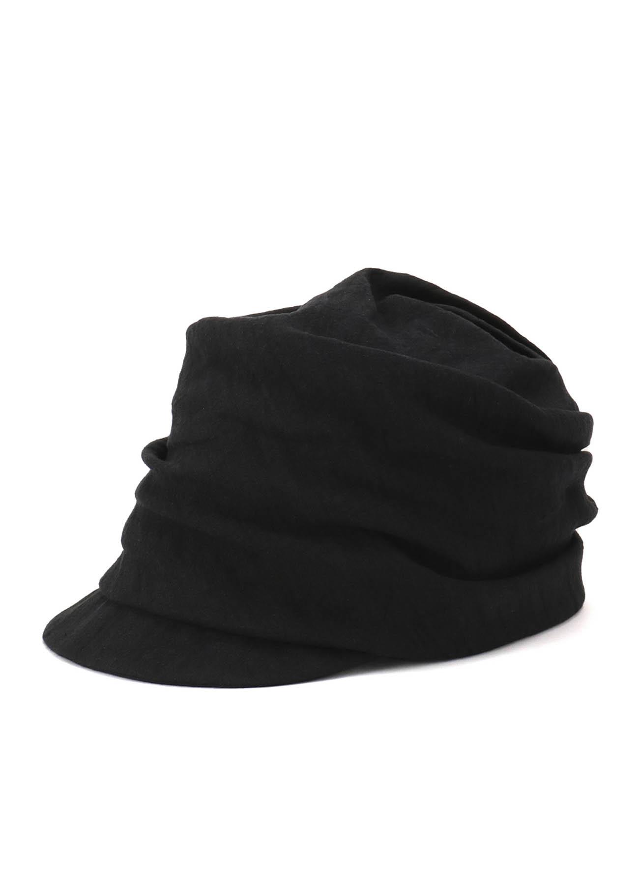 リネンddw ターバンキャスケット帽