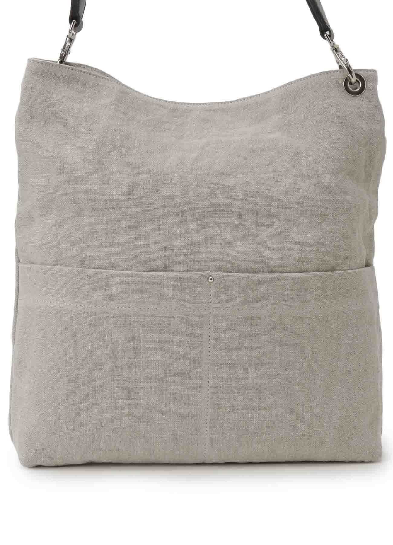 厚亚麻平纹编织一根肩带