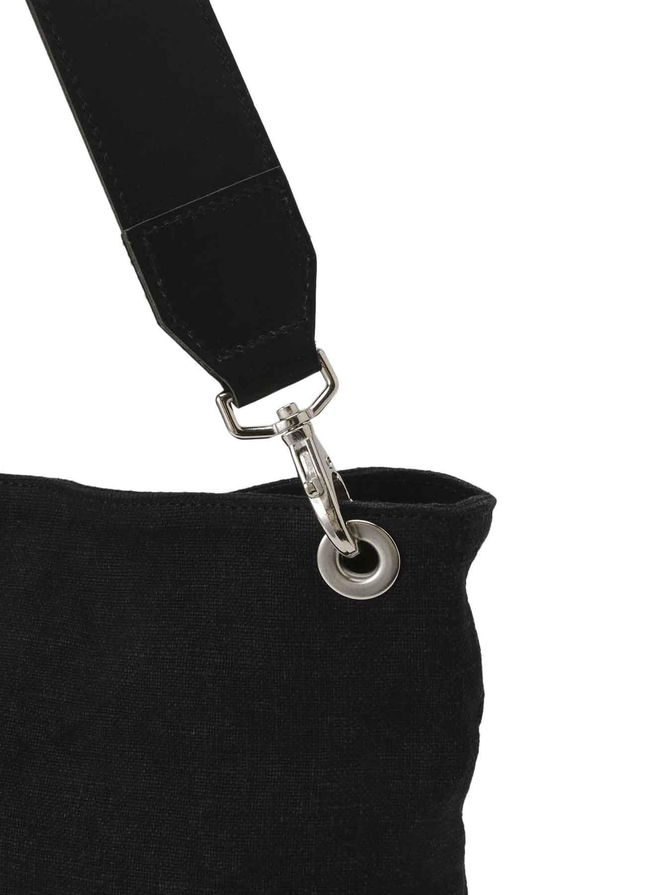 厚手リネン平織り ワンストラップショルダー