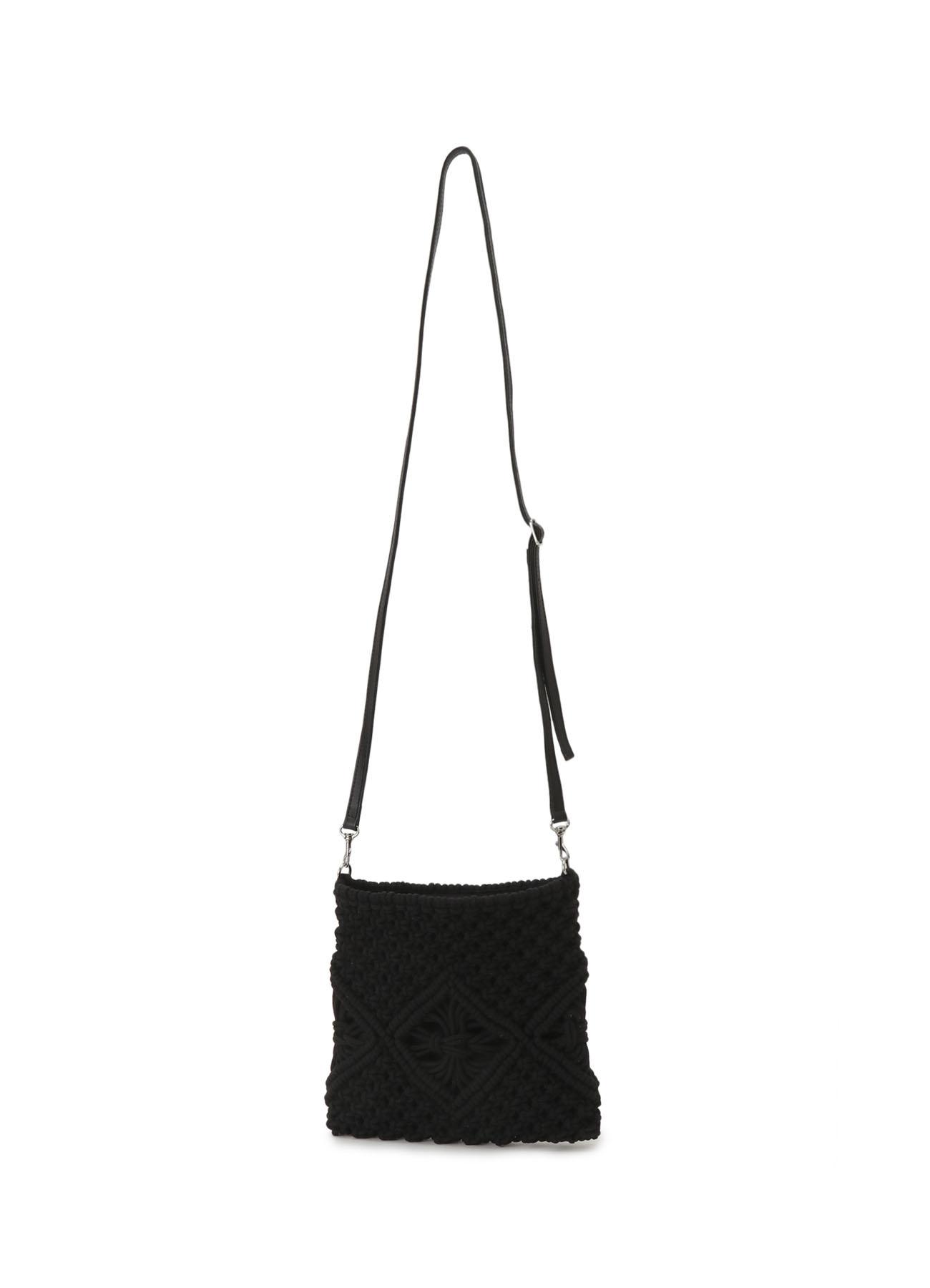 マクラメ編み ポシェット