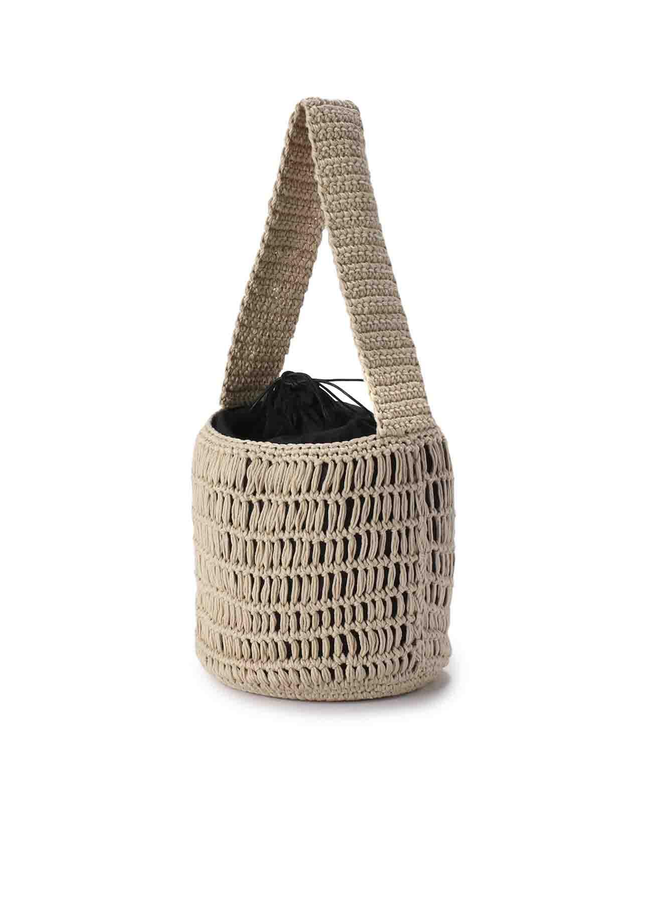 FMSコットン 編みバッグ