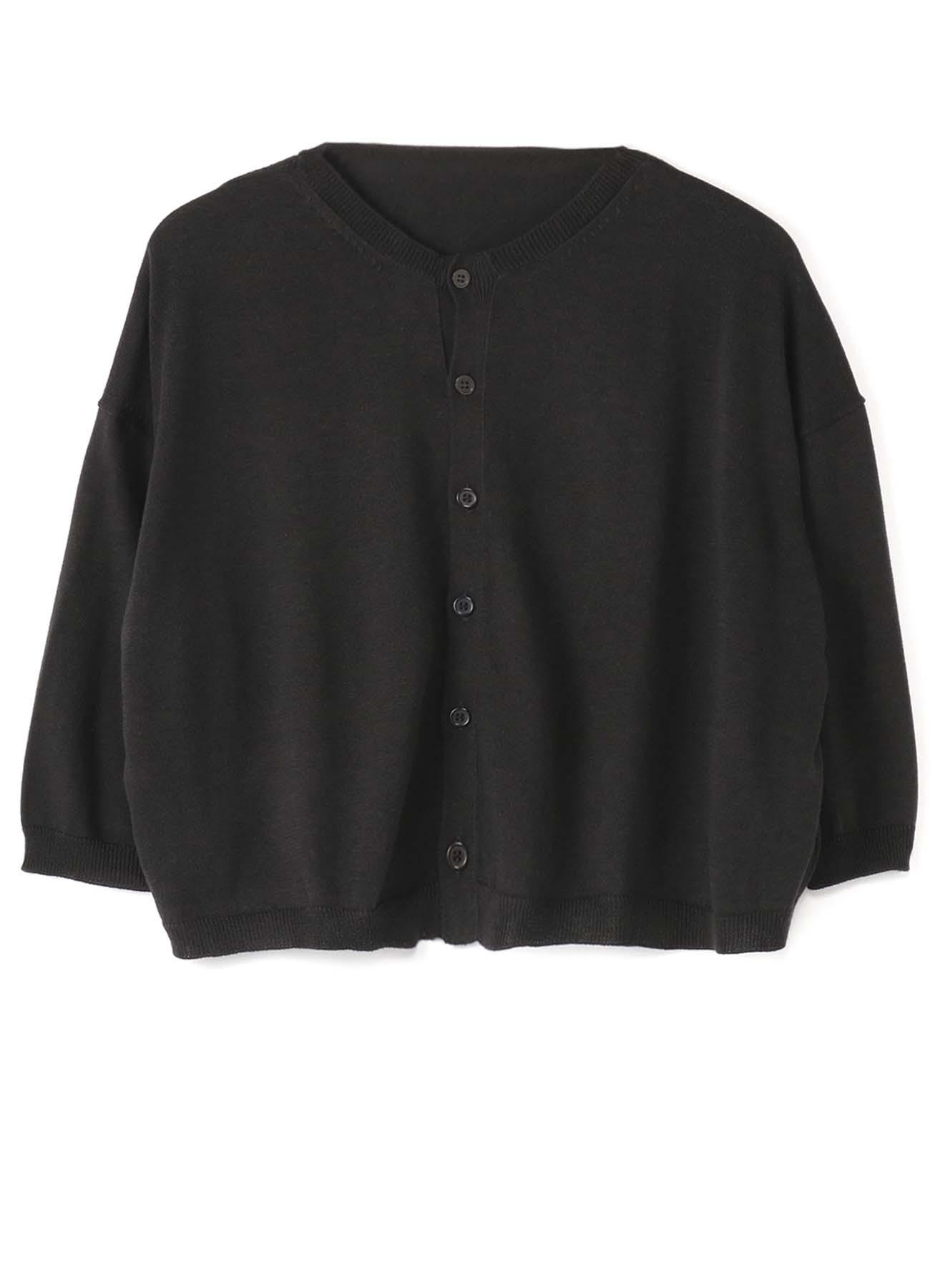 棉质柔软T恤短款开衫