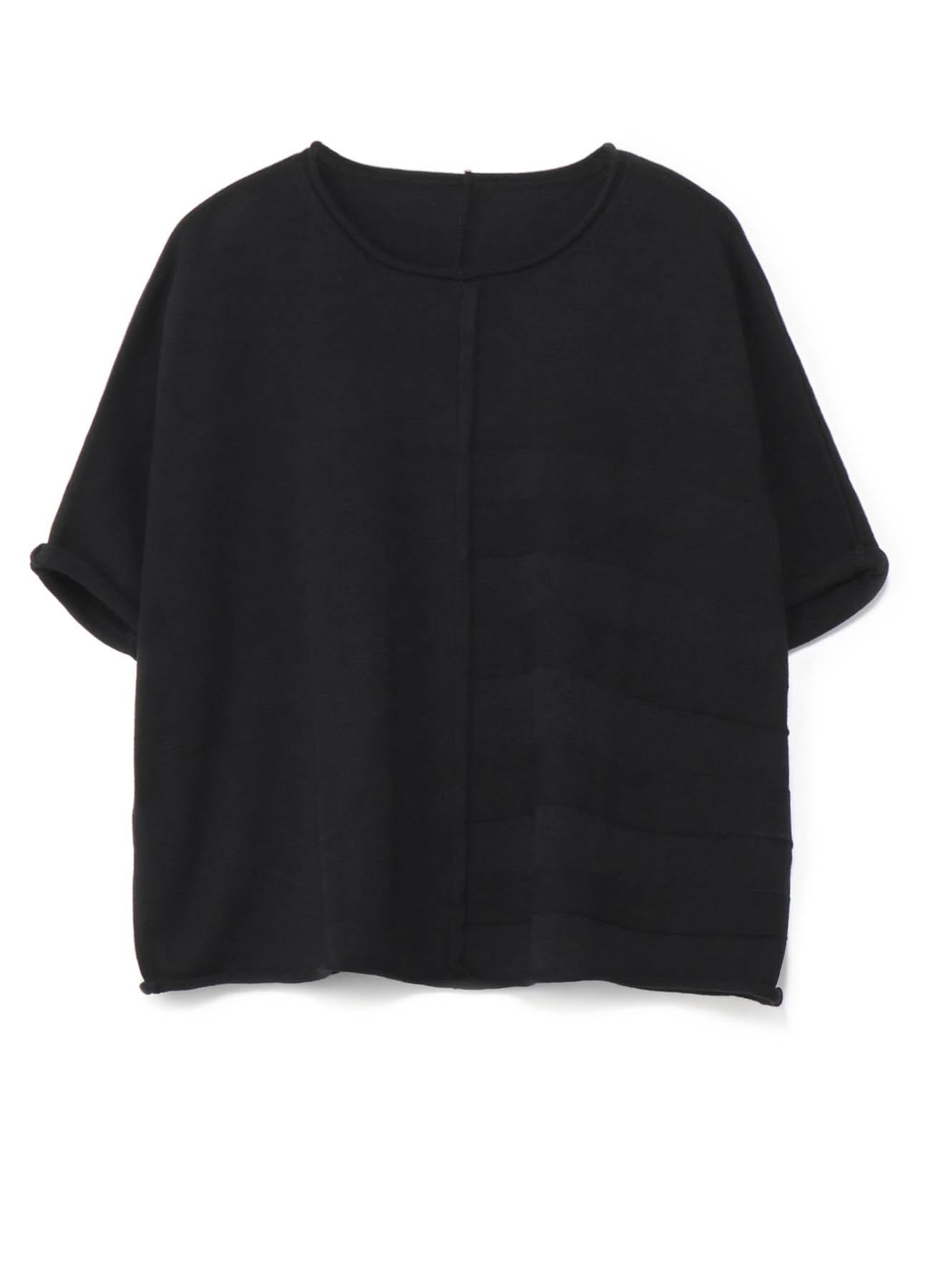 棉亚麻Tenjiku宽松针织套衫