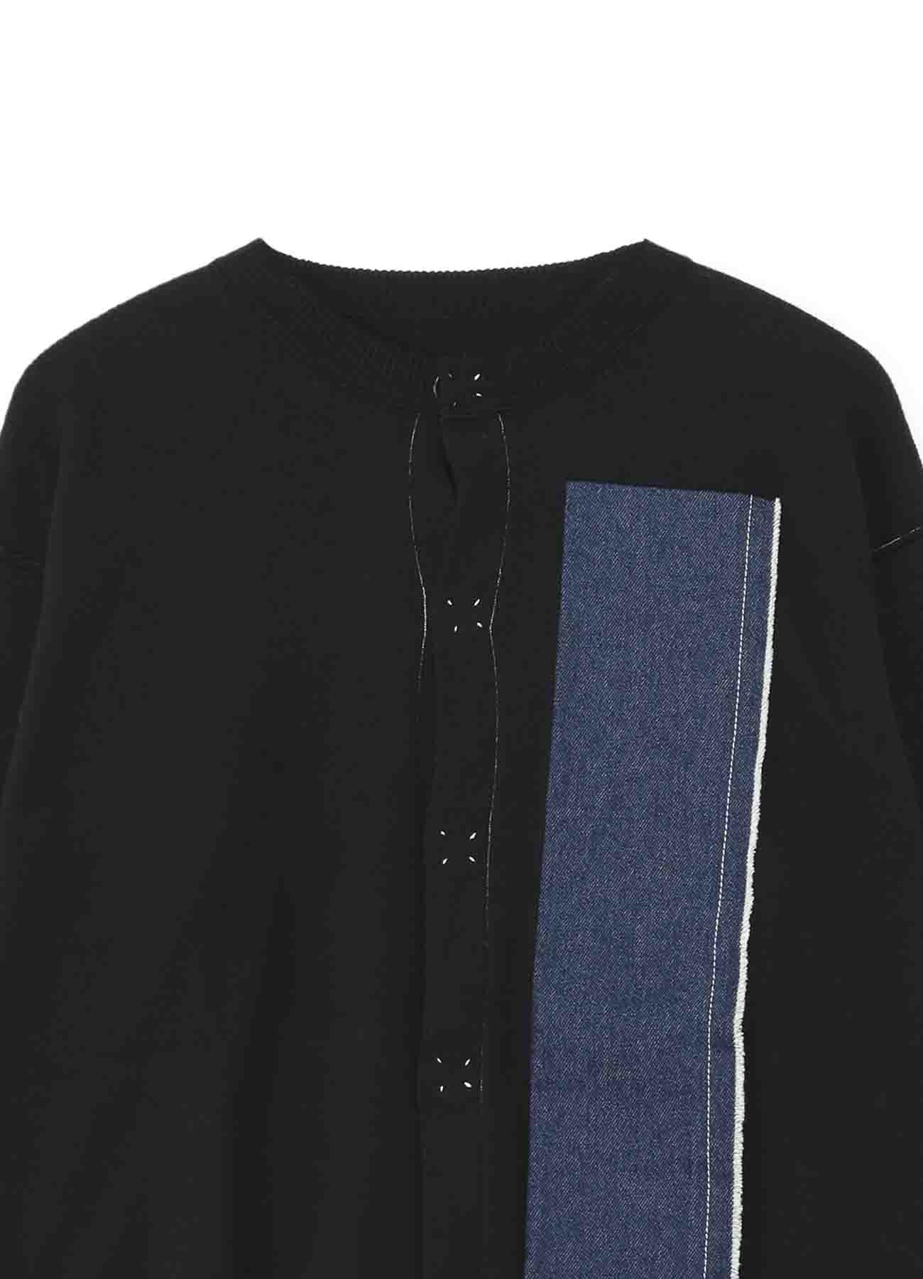 拉绒棉布x10oz牛仔布针织开衫