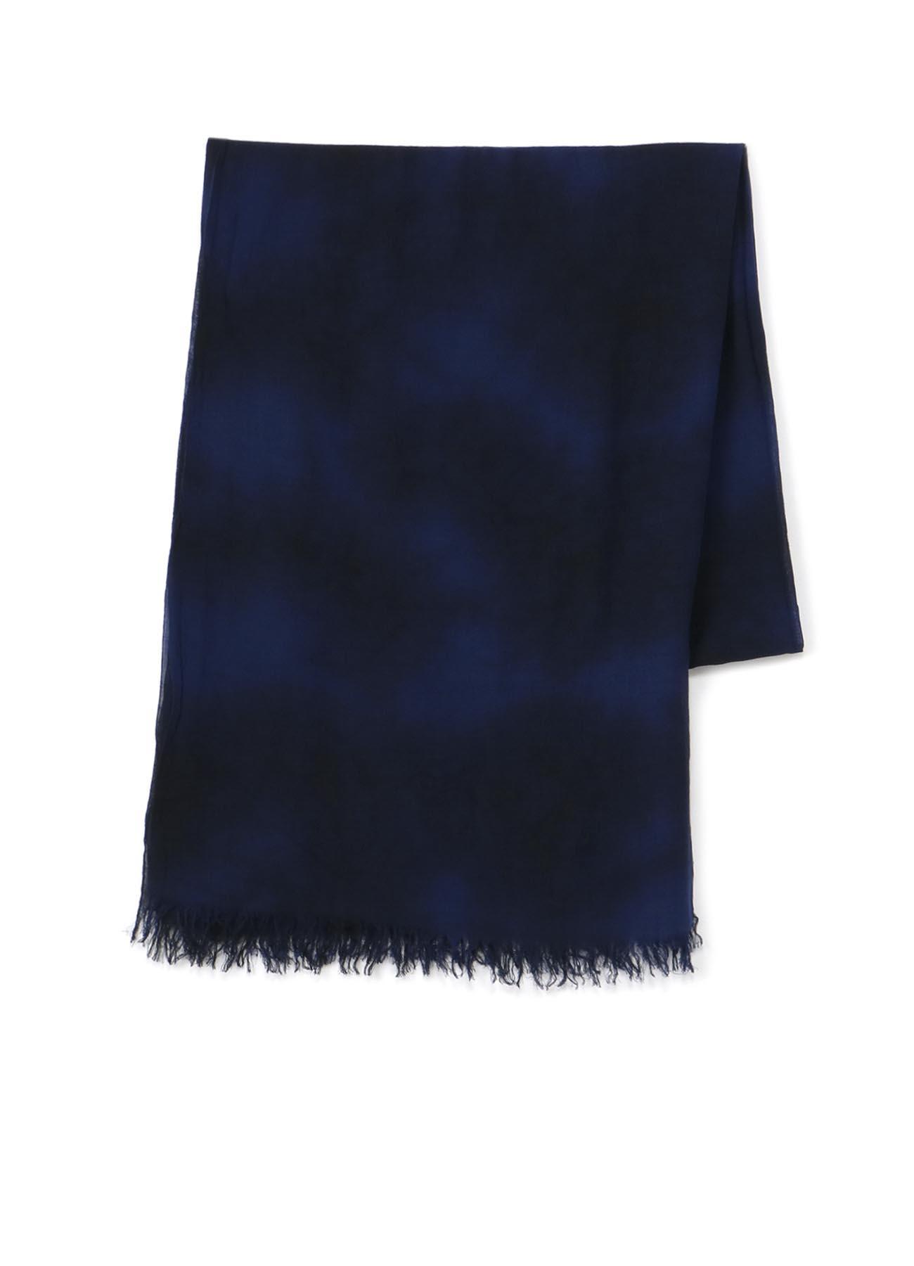 混纺笼染围巾
