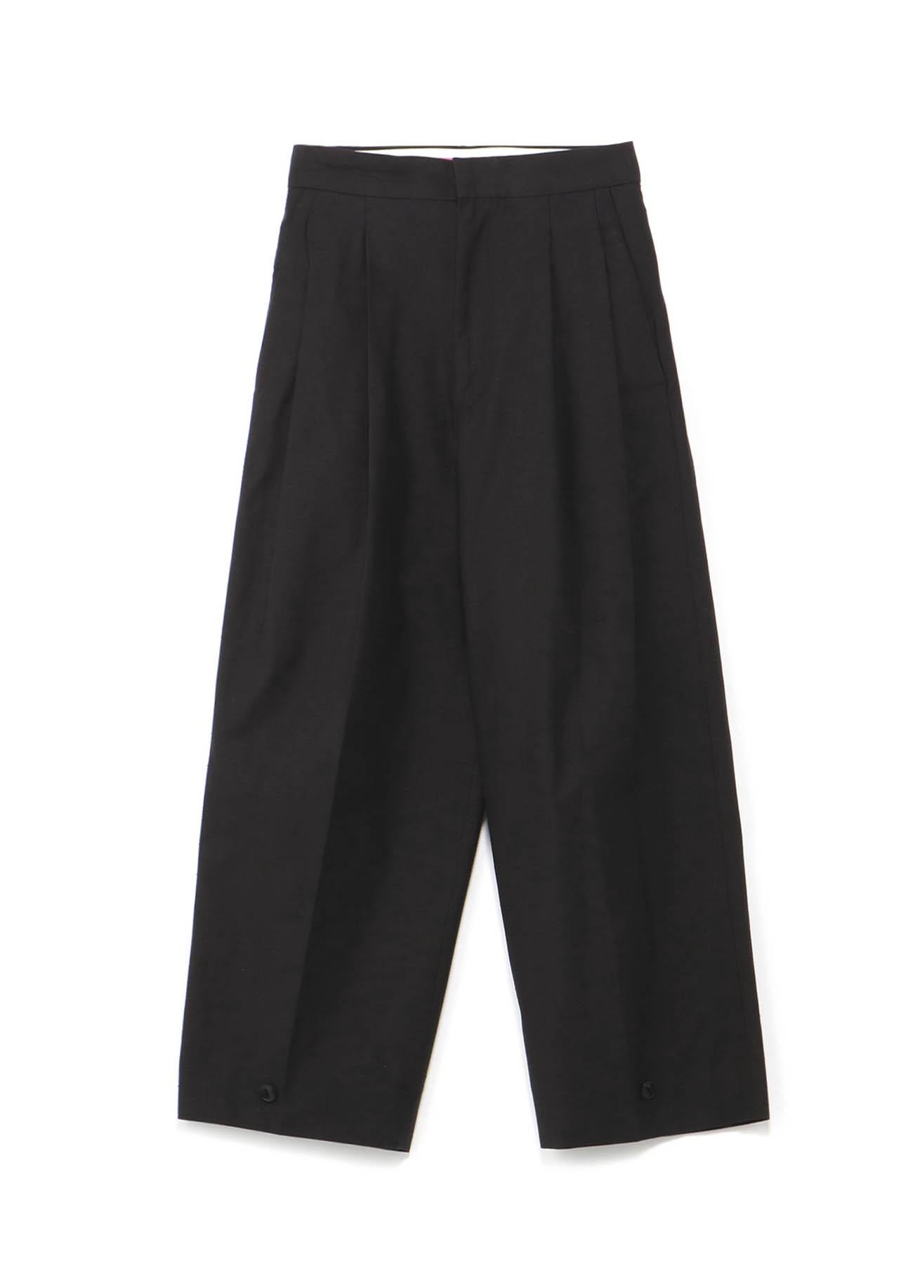可调节裤腿长裤