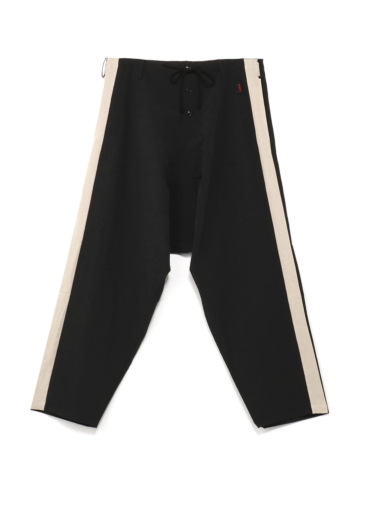 Gipsy 抽绳条纹裤线哈伦裤