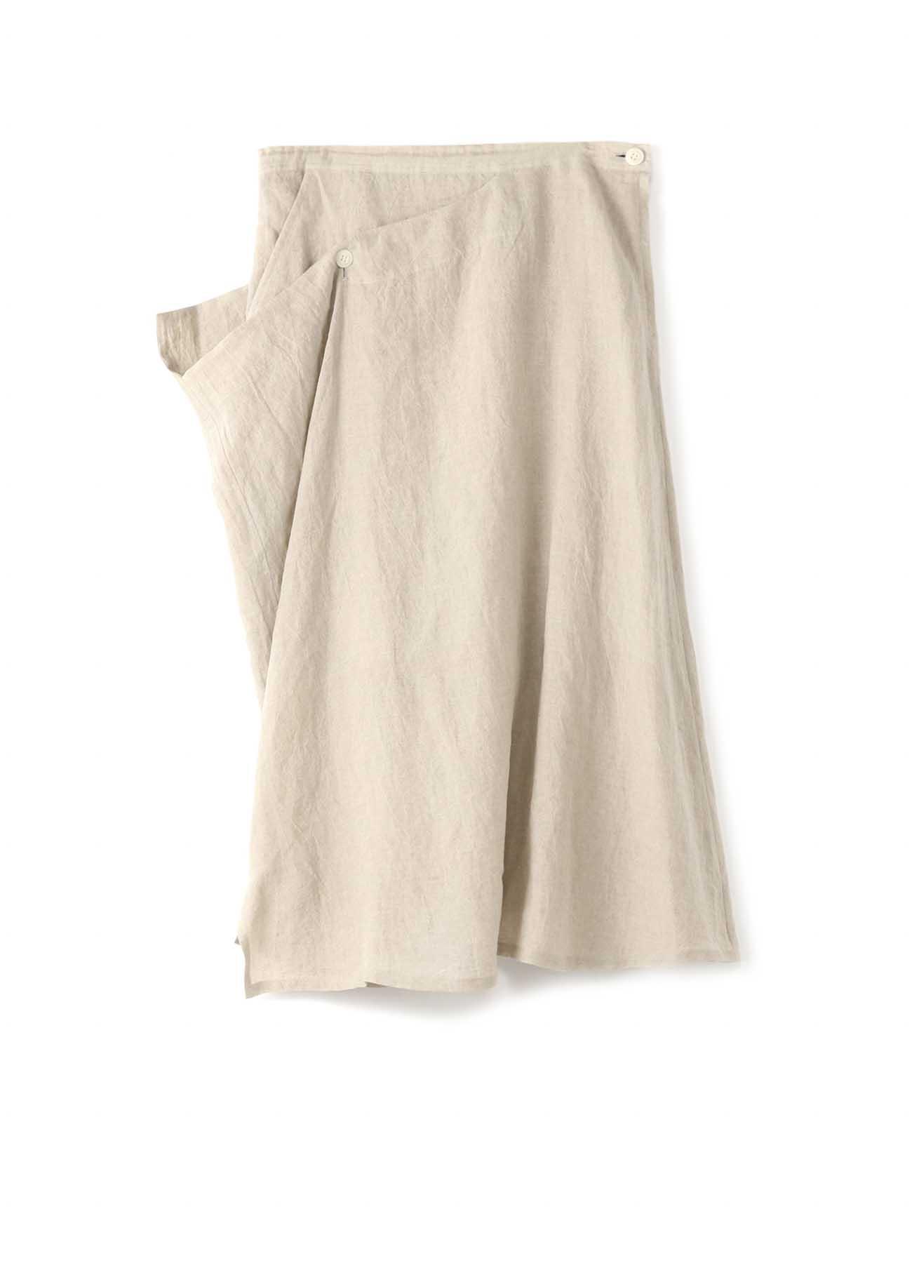 亚麻DWD右双半身裙