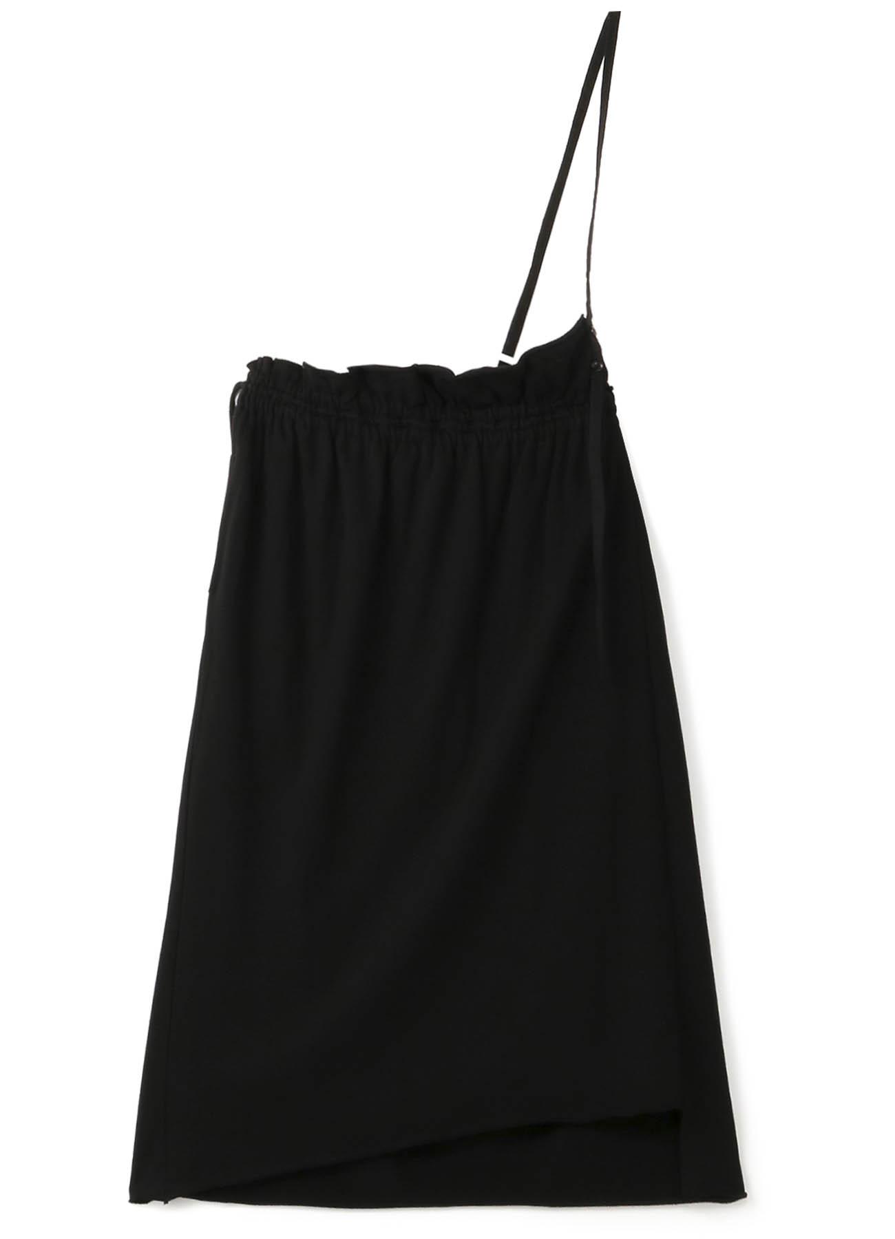 天丝单肩背带半身裙