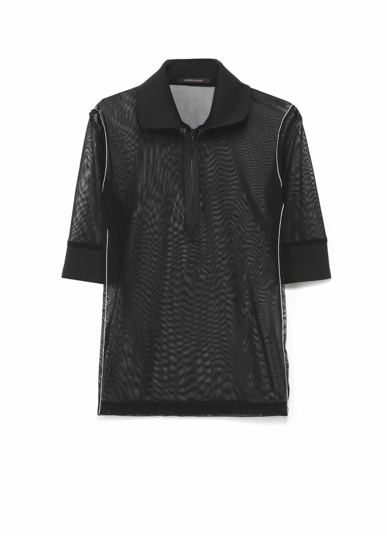 サモーラパワーネットチュール ポロシャツ