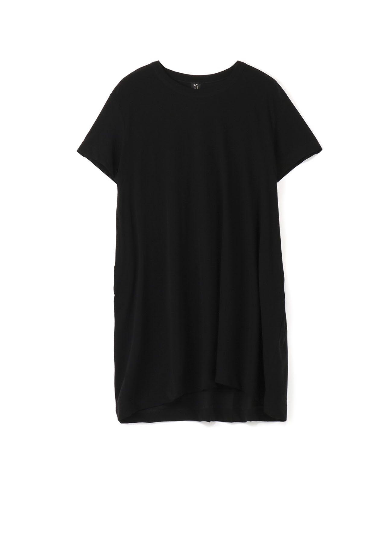 コットン強撚天竺 ドレープTシャツ