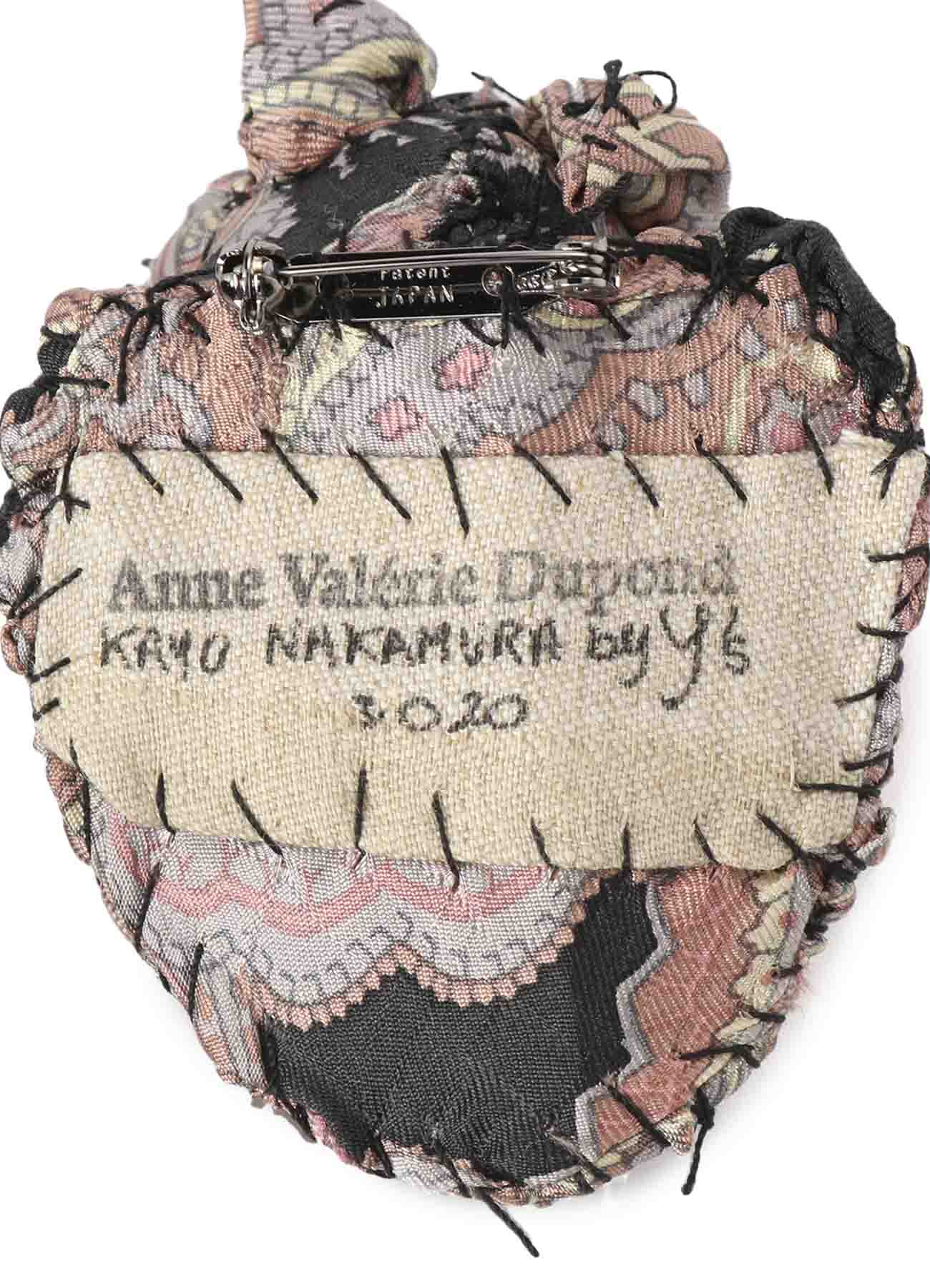 BESTIAIRE ミニチュア トロフィー ブローチ PIECE UNIQUE KAYO NAKAMURA by Y's×Anne-Valerie Dupond