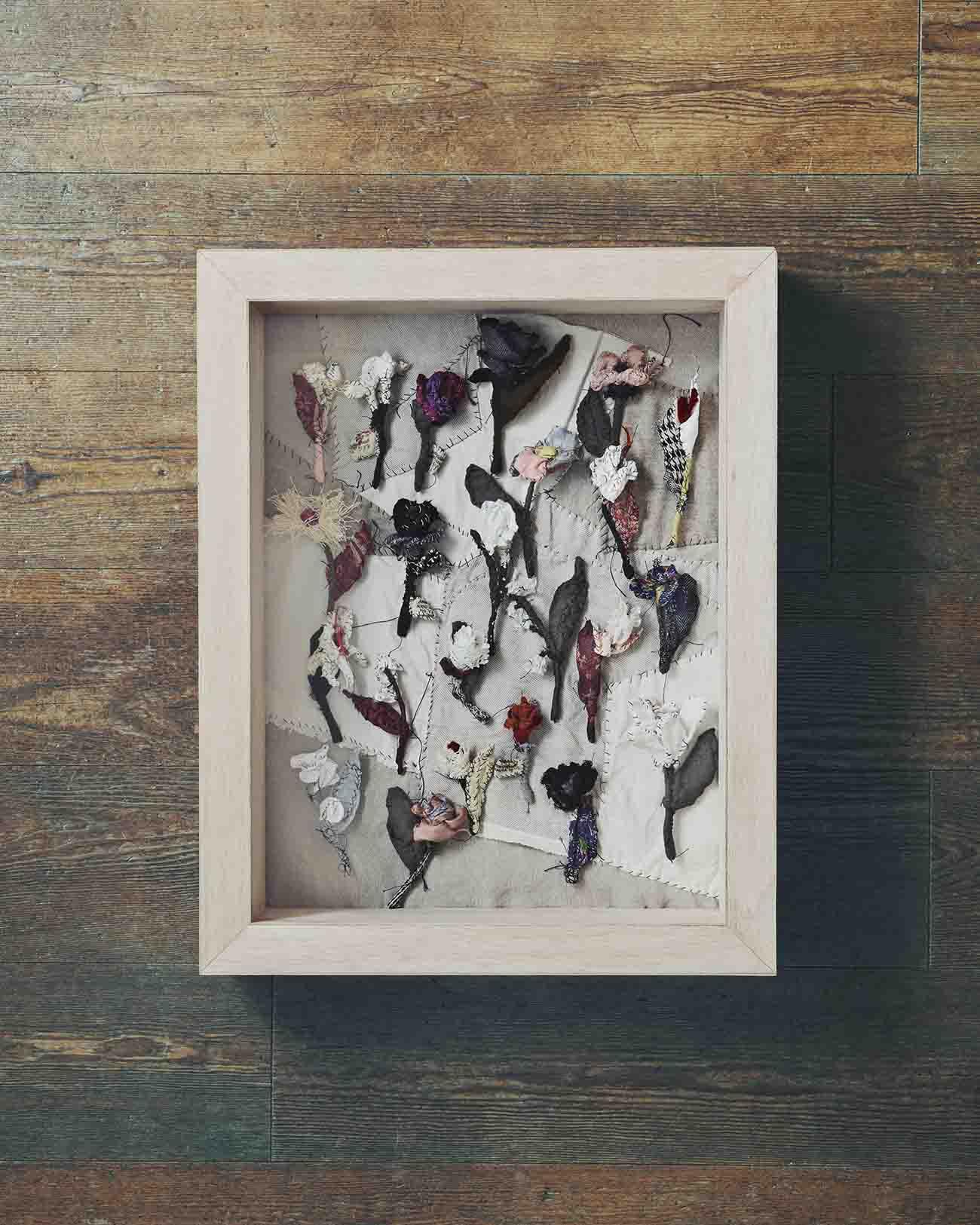 フラワーブローチ PIECE UNIQUE KAYO NAKAMURA by Y's×Anne-Valerie Dupond