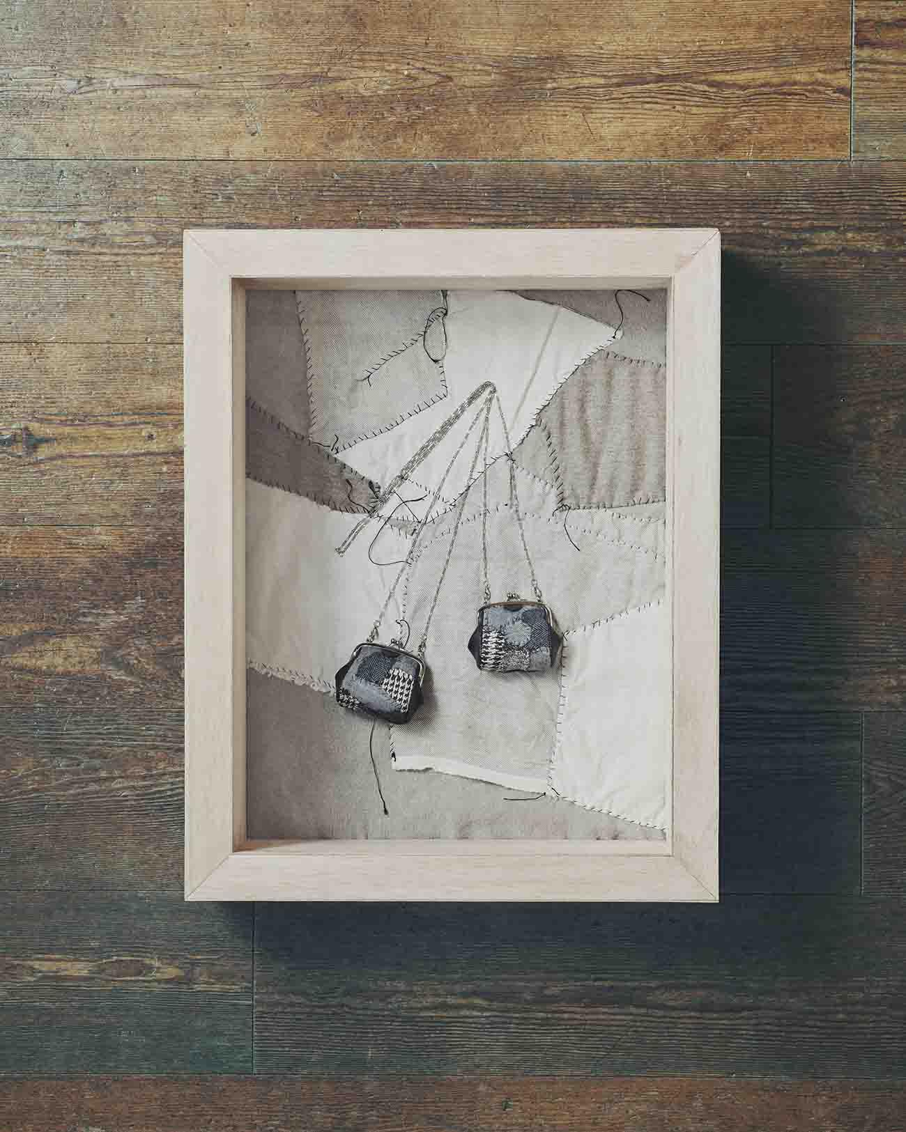 拼布零钱包PIECE UNIQUE KAYO NAMAMURA by Y's ×Anne-Valerie Dupond