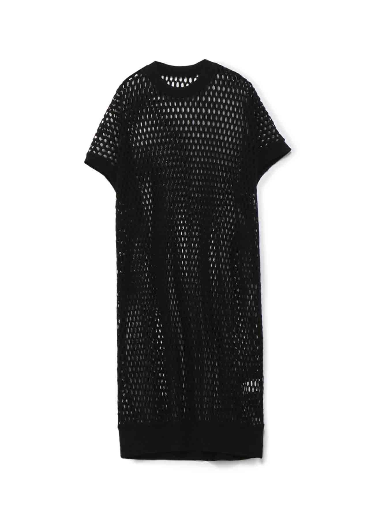 网眼镂空连衣裙