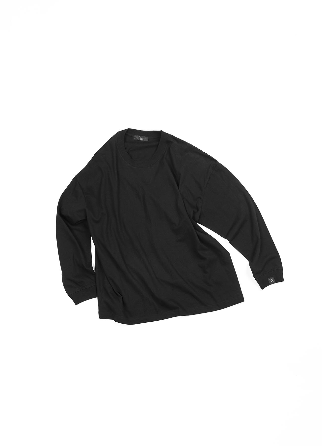 -Online EXCLUSIVE- Y's logo Long sleeve T-shirts (Wide)