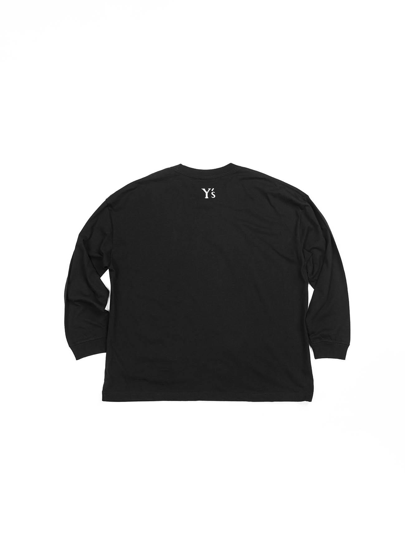 THE SHOP Limited product Y's logo Long sleeve T-shirts (Wide)