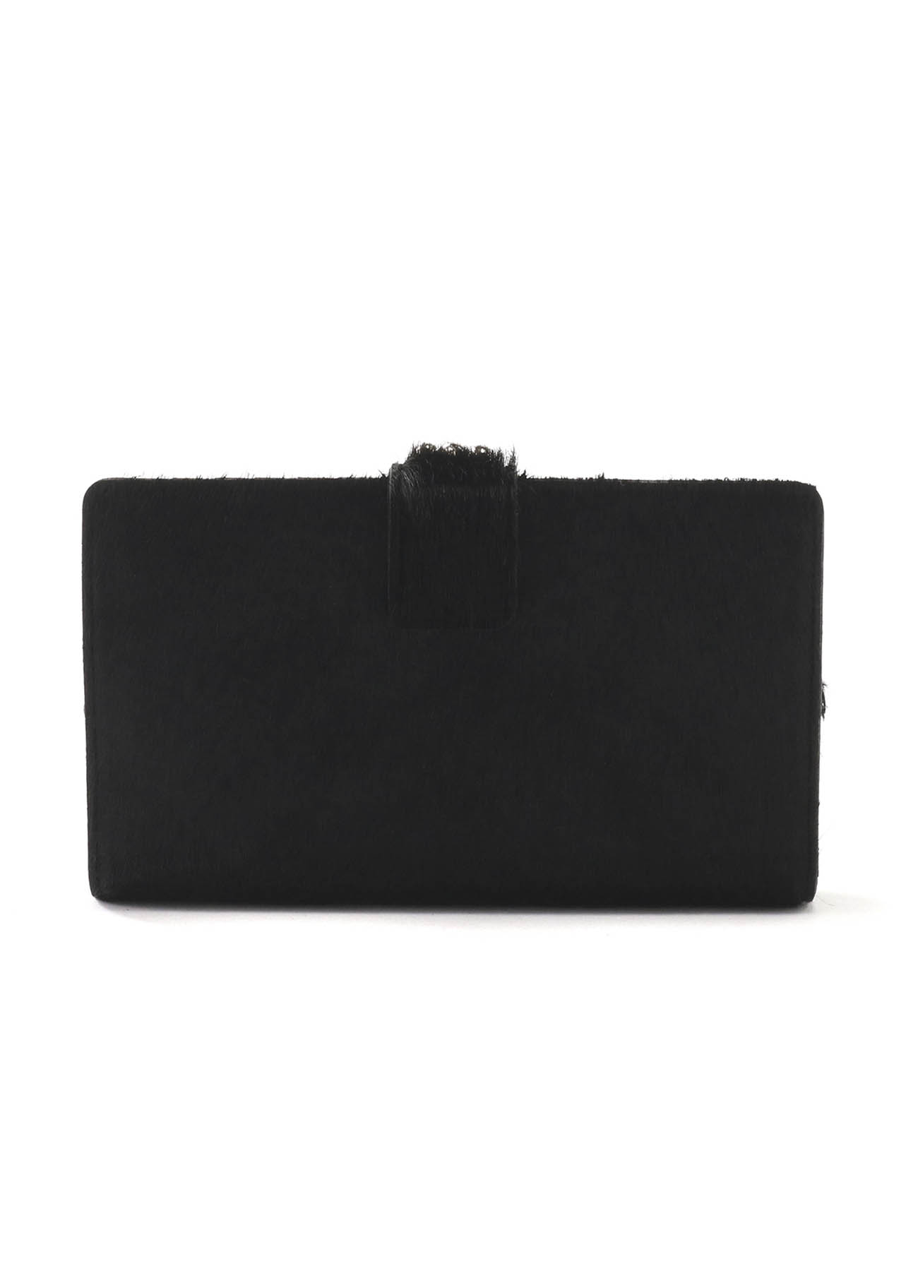HORSE LEATHER BASIC CLASP LONG WALLET