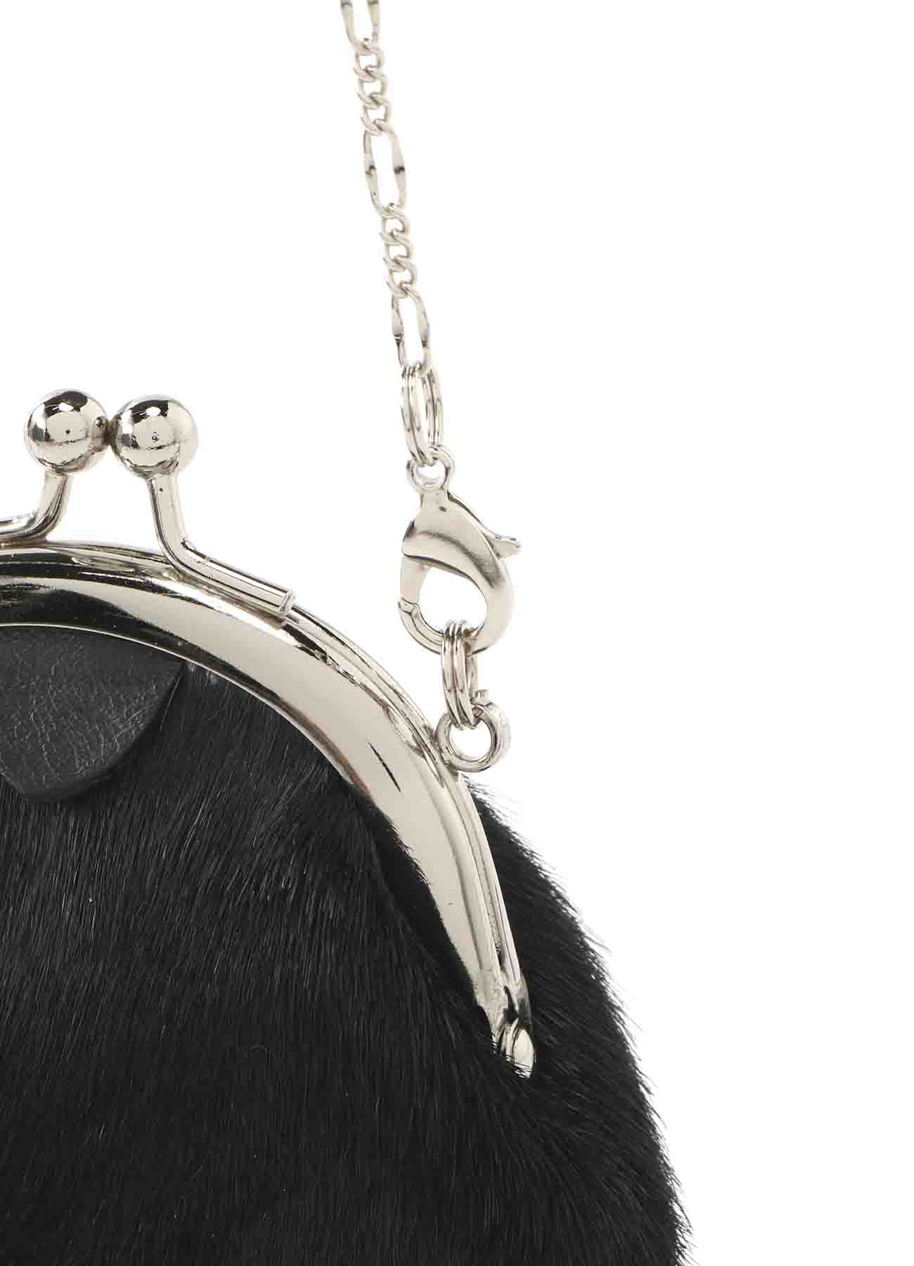 HORSE LEATHER CLASP NECKLACE