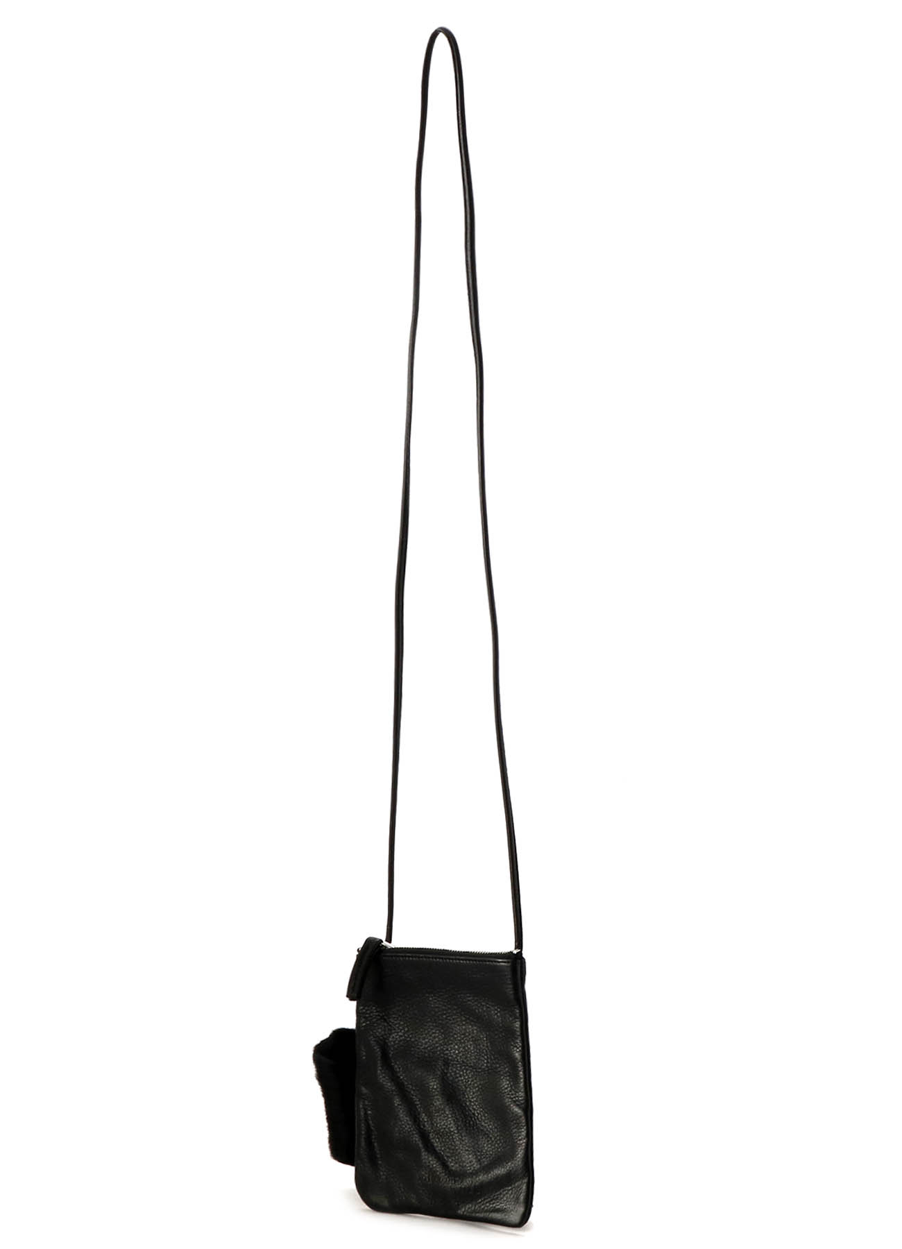 KAYONAKAMURAbyY's COMBI LEATHER RING POCHETTE
