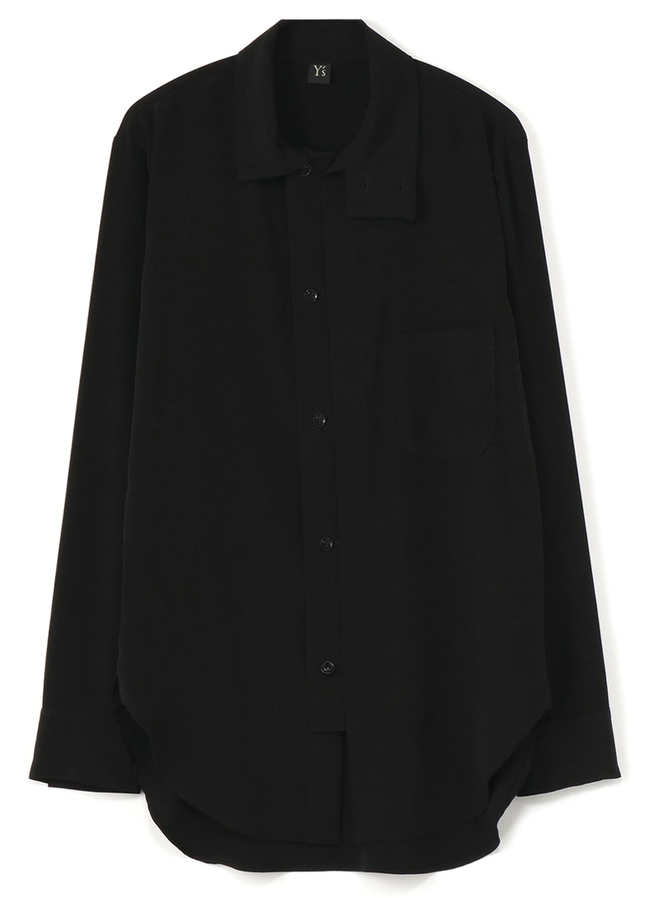 DECYNE FRONT OPEN SQUARE BLOUSE