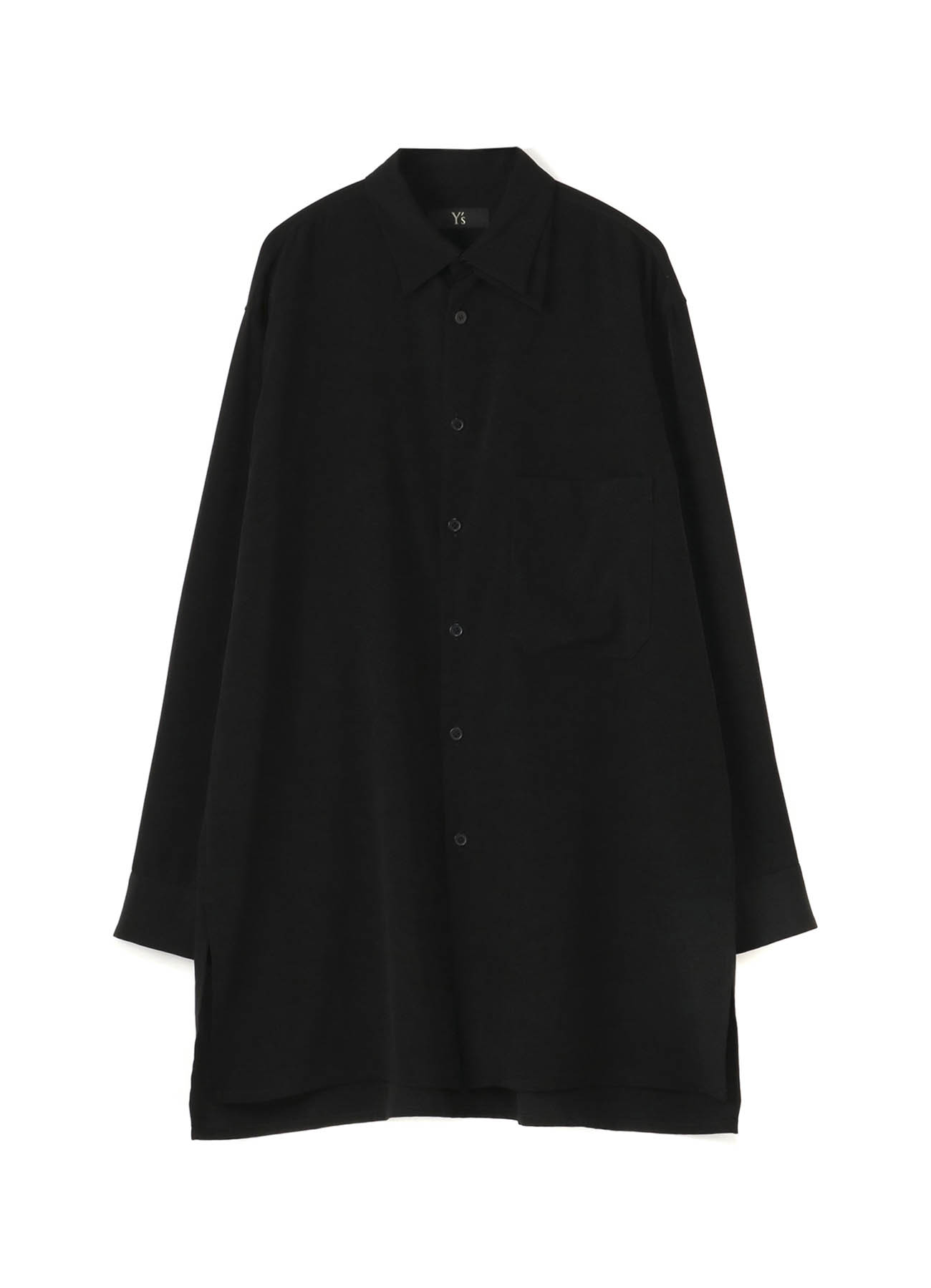 DECYNE LEFT COLLAR LAYERED BLOUSE