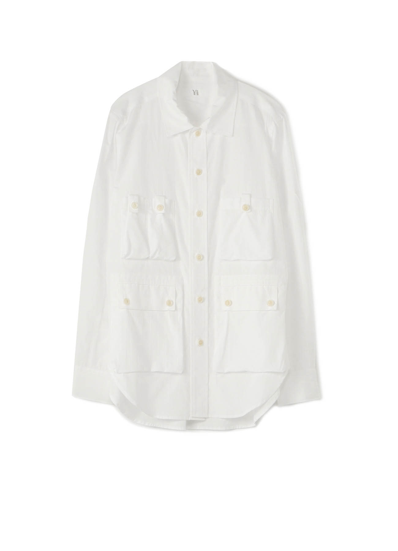 COTTON BROAD MULTI POCKET BLOUSE