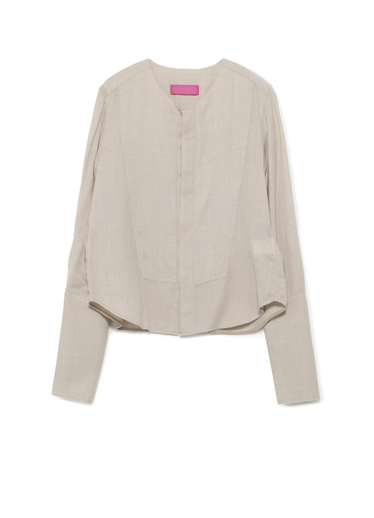 Y'sPINK VIYELLA SHORT SHIRT