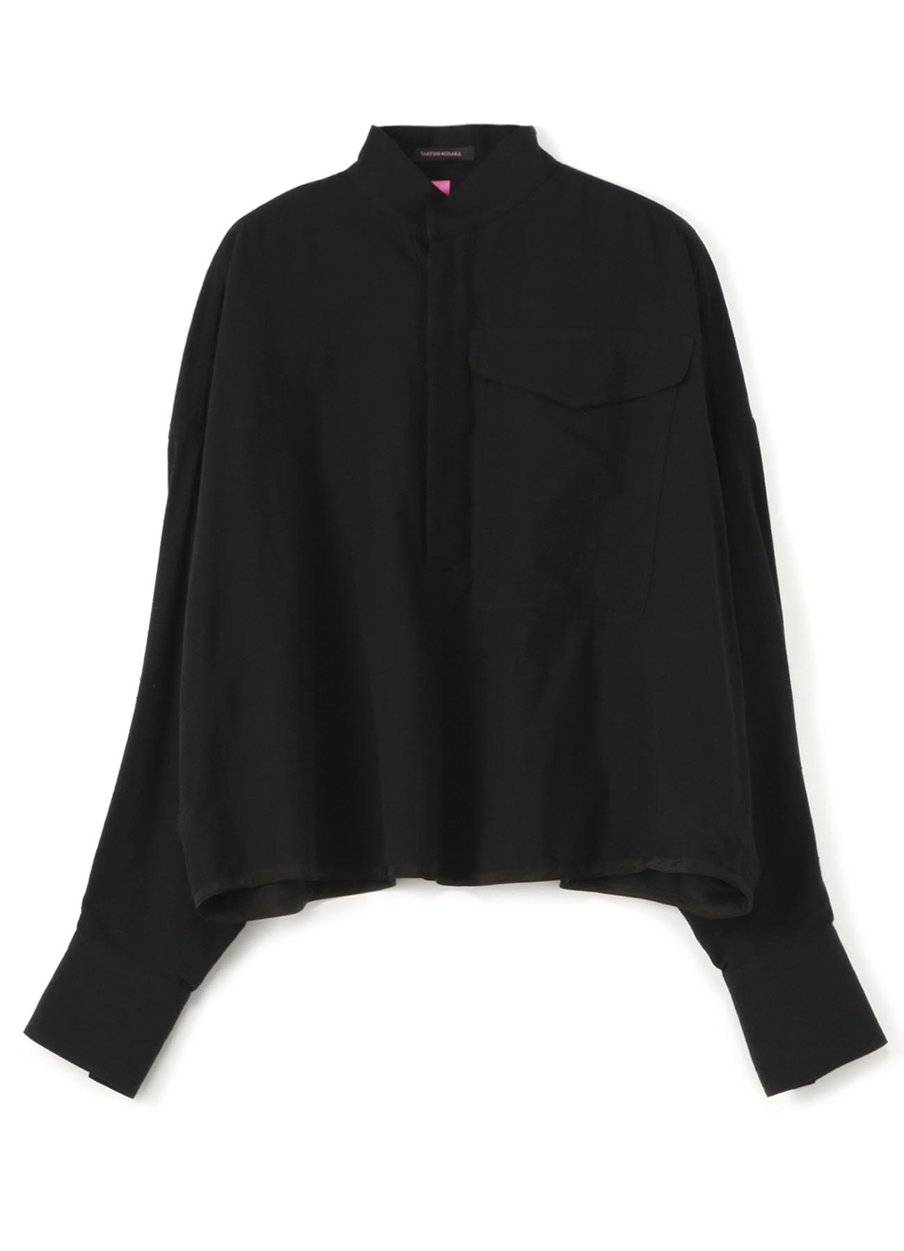 Y'sPINK COTTON NEP GINGHAM PULL OVER