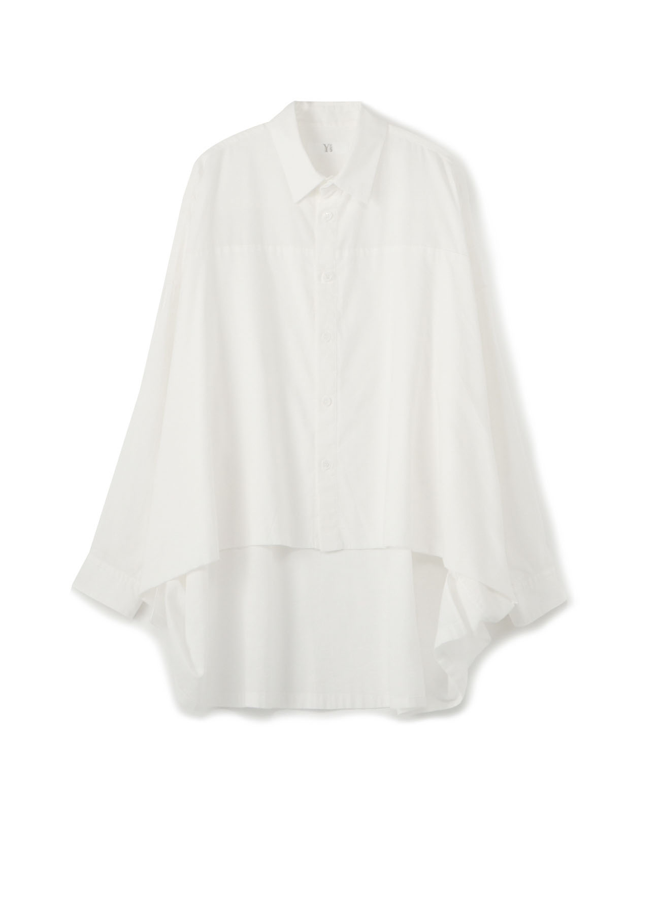 Y's-BORN PRODUCT LAREYED BIG BLOUSE