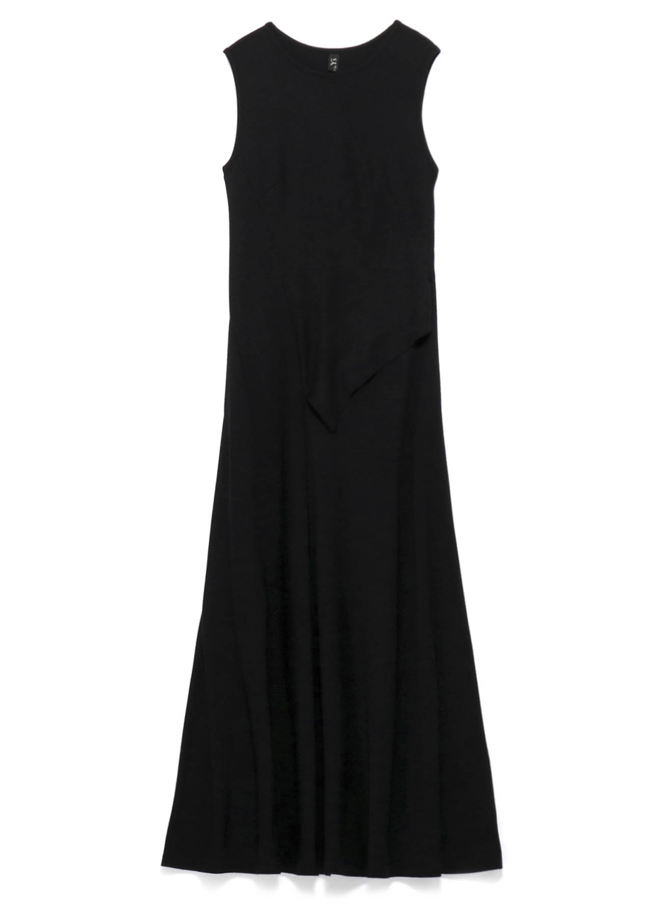 MICHIKObyY's WOOL CLEAR SMOOTH LEFT CUT OFF DRESS
