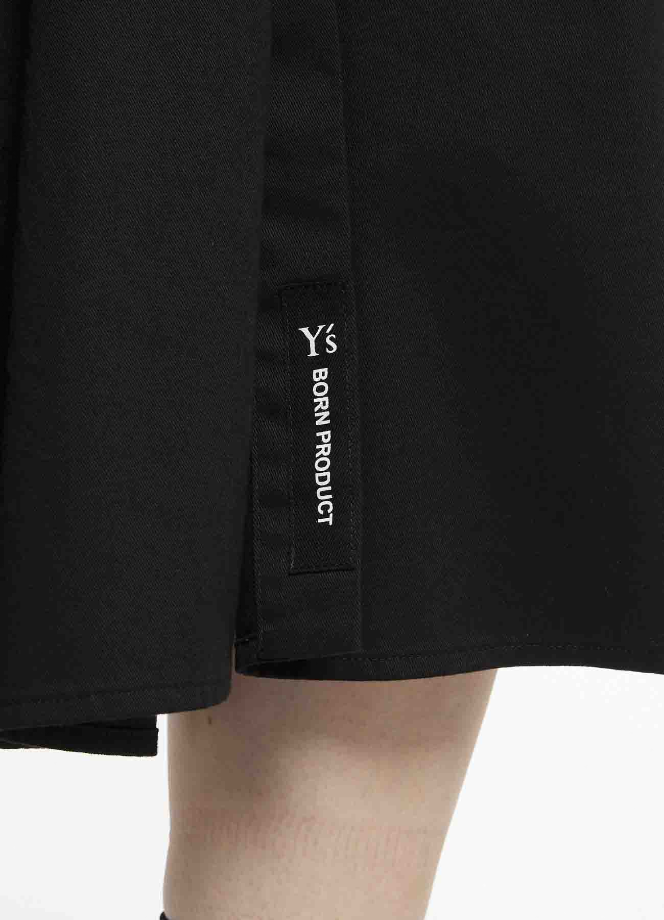 Y's-BORN PRODUCT OUT POCKET SHIRT DRESS