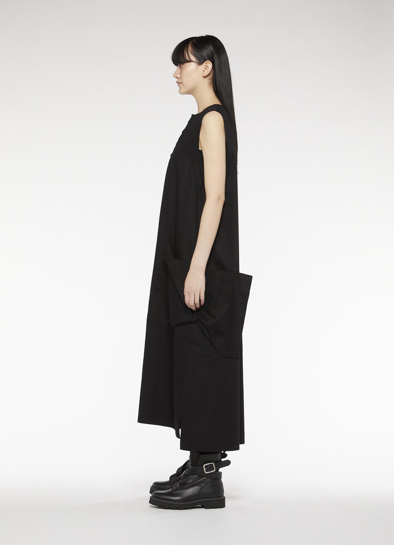 Y's-BORN PRODUCT 4 BOTANN LONG DRESS