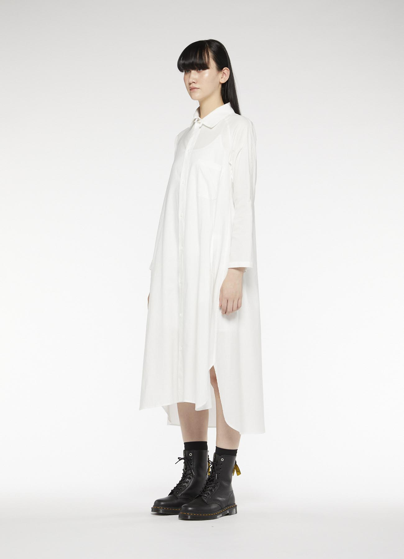 Y's-BORN PRODUCT LONG SHIRT DRESS