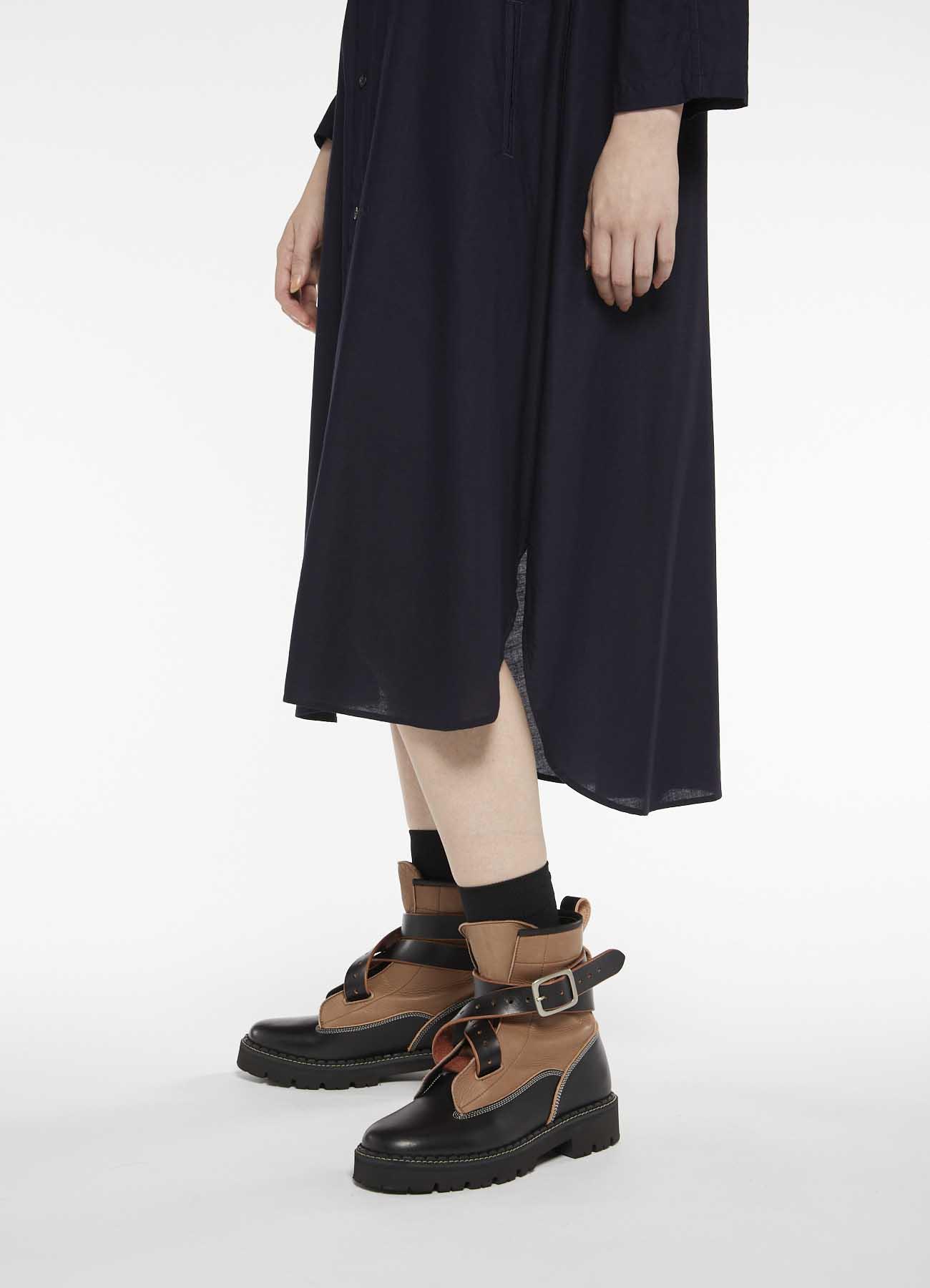 Y's-BORN PRODUCT LONG SHIRT DRESS