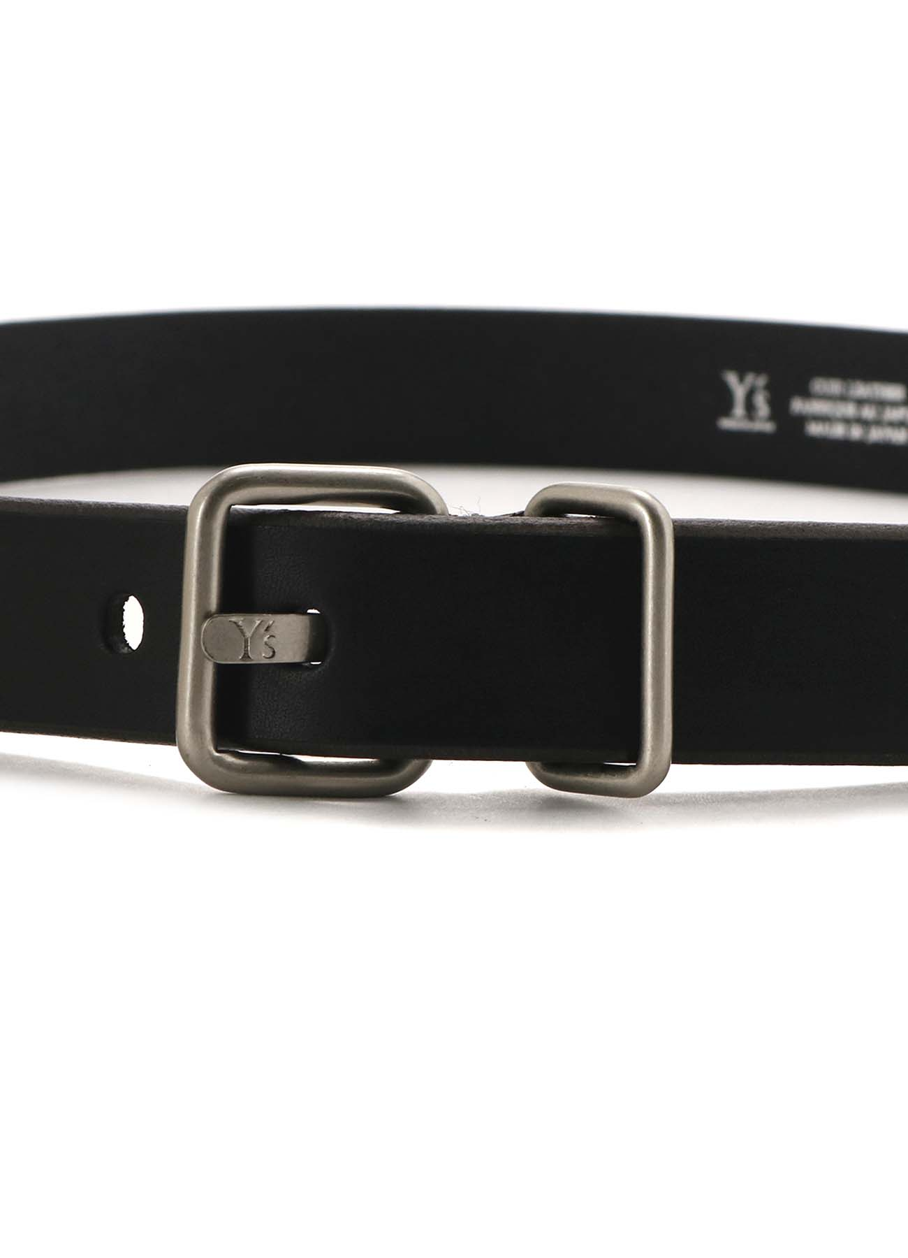 MATTE LEATHER 30MM PLAIN BELT