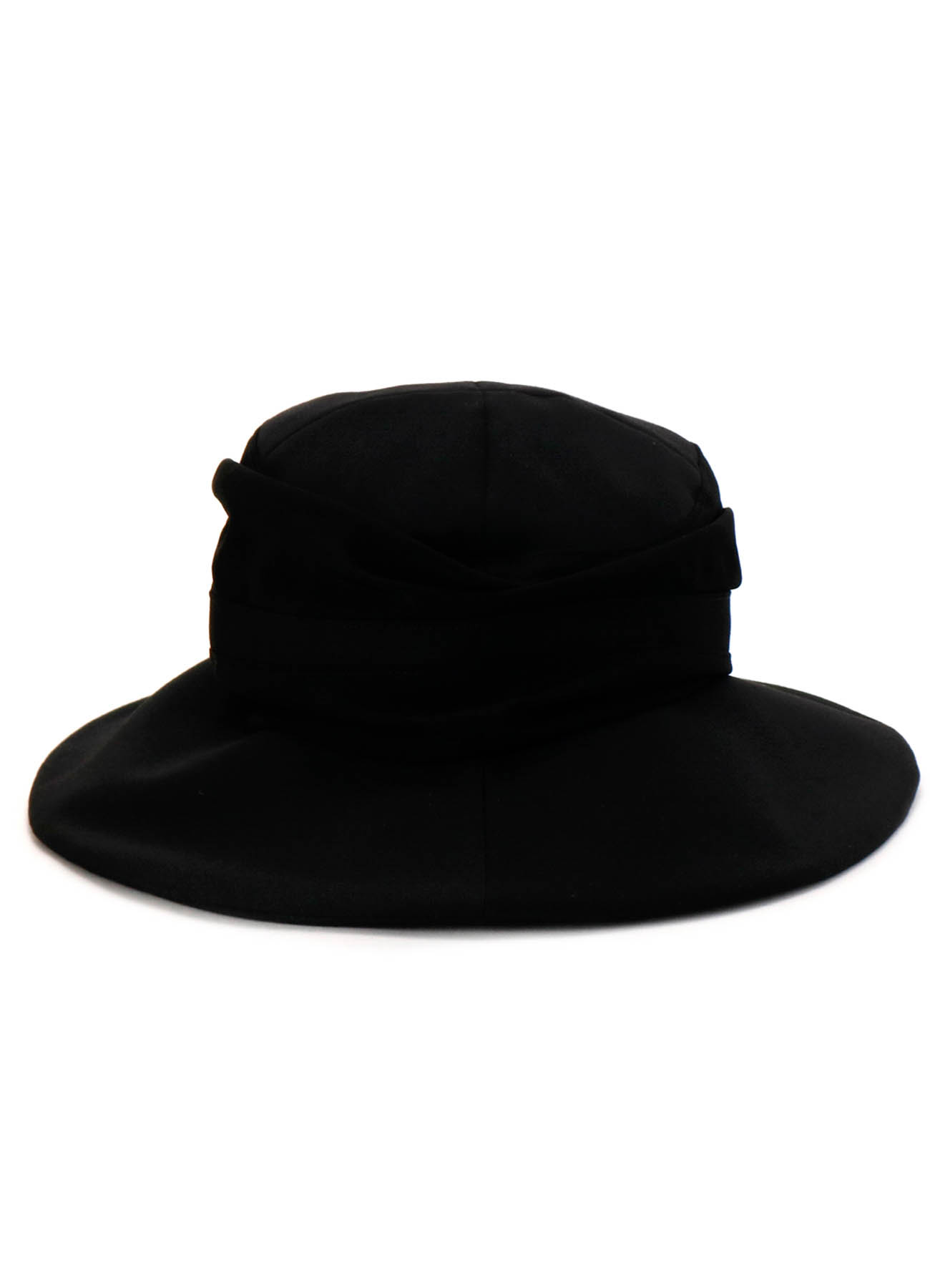 GABARDINE CONBI TORN PANEL HAT