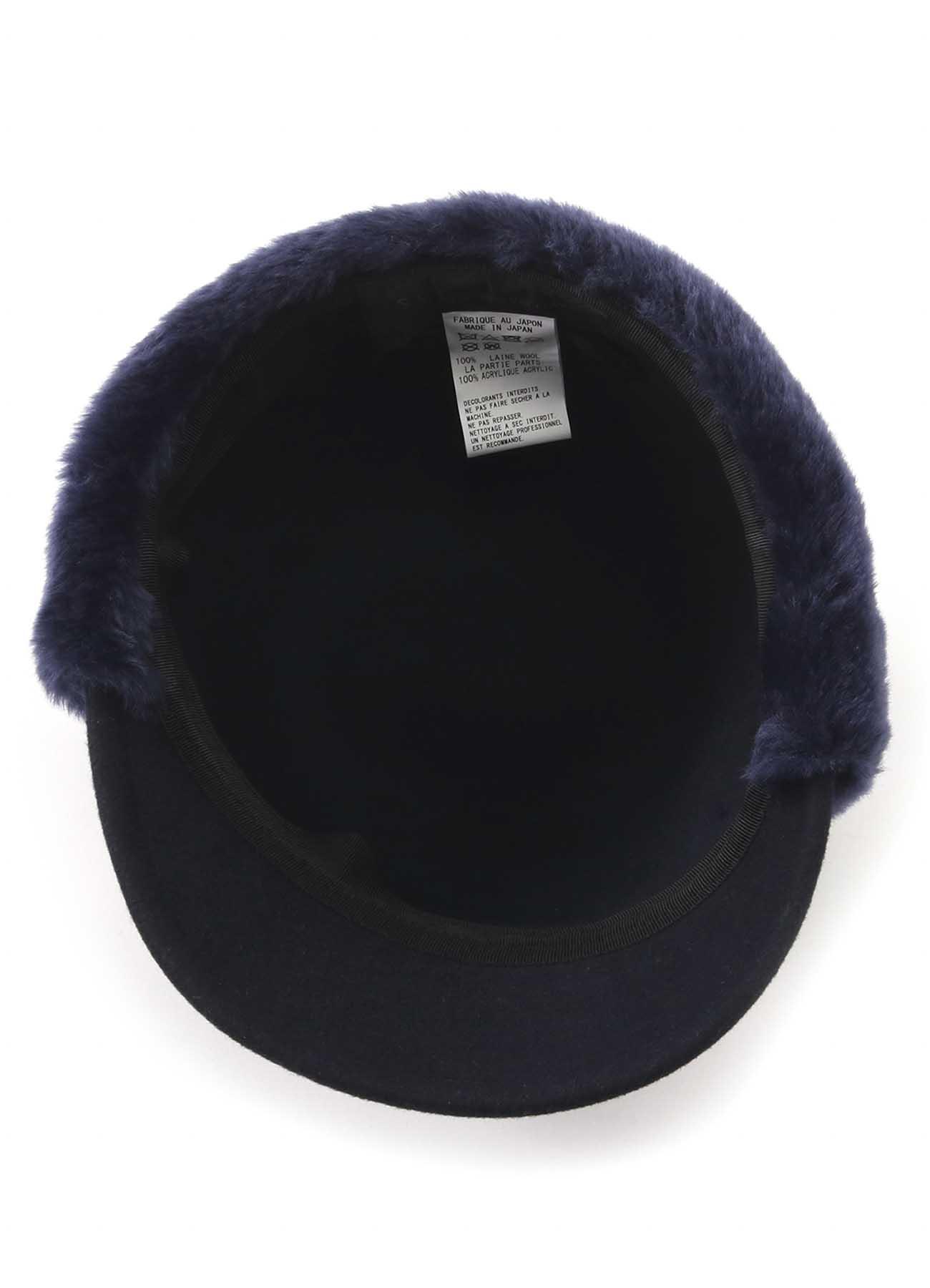 KAYONAKAMURAbyY's COMBI HAT BODY BOA CAP
