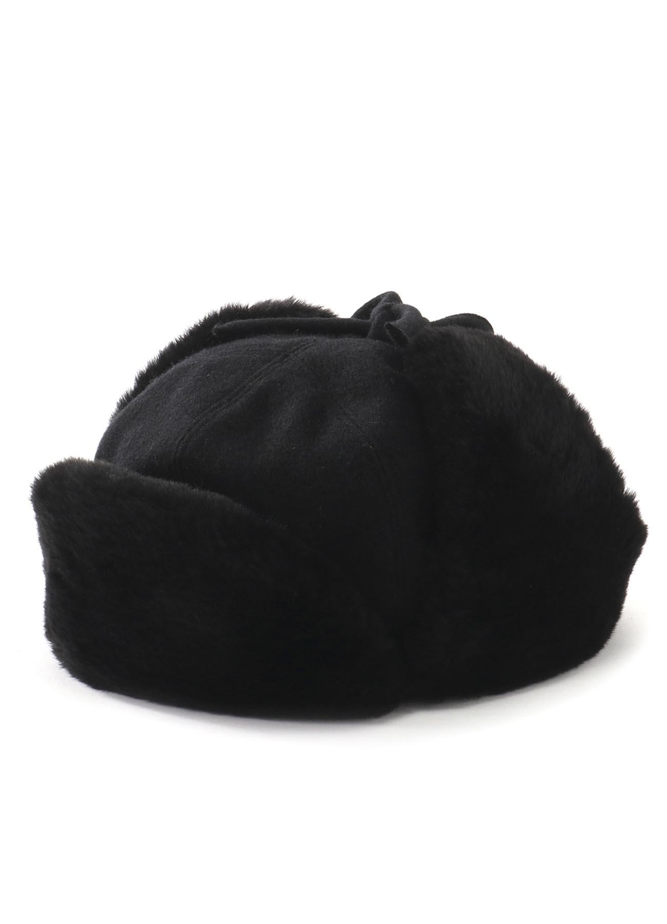 KAYONAKAMURAbyY's FUR BOA PILOT CAP