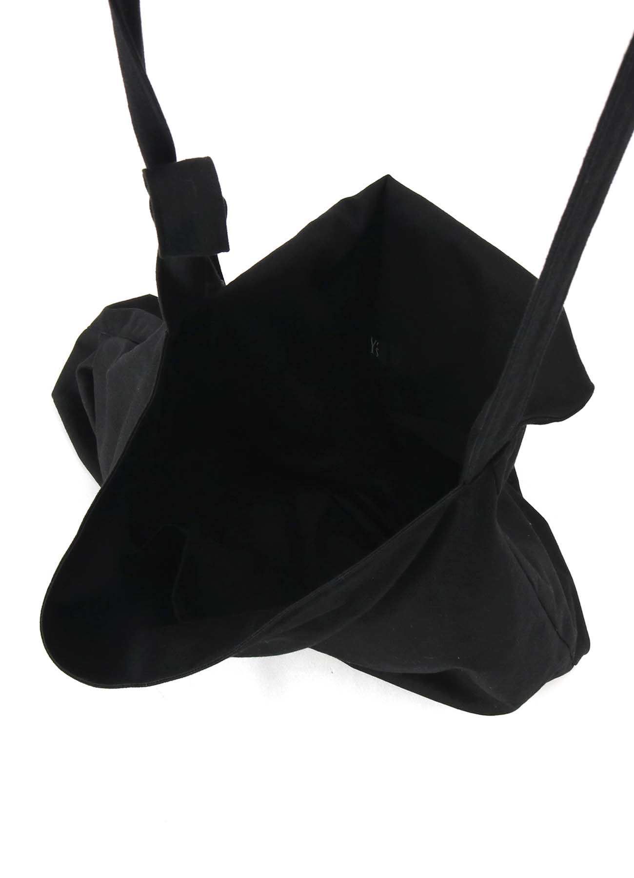 NO.11 CANVAS TUCK DRAPE BAG