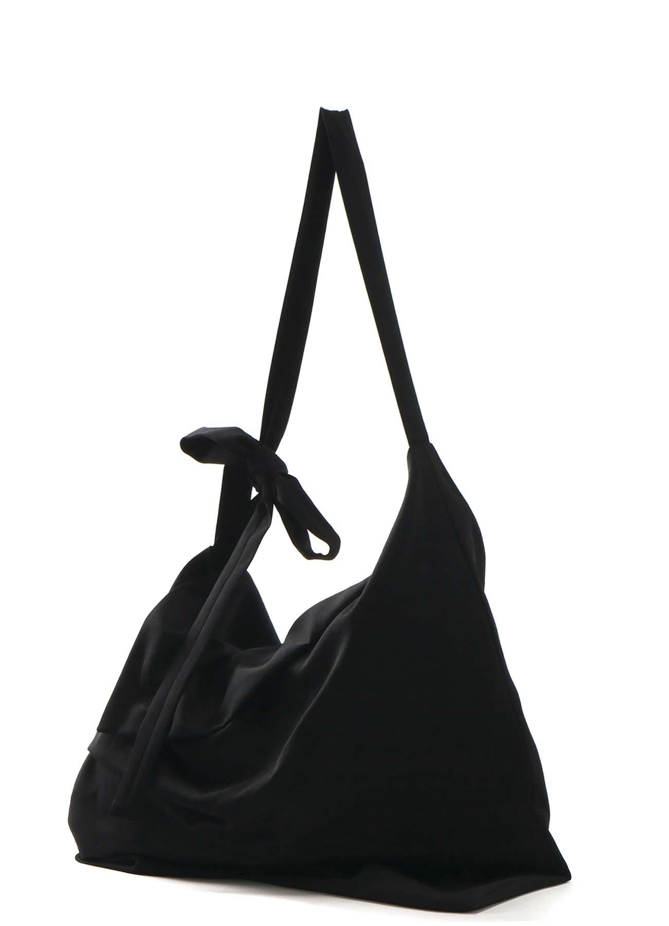 GABARDINE TUCK DRAPE BAG